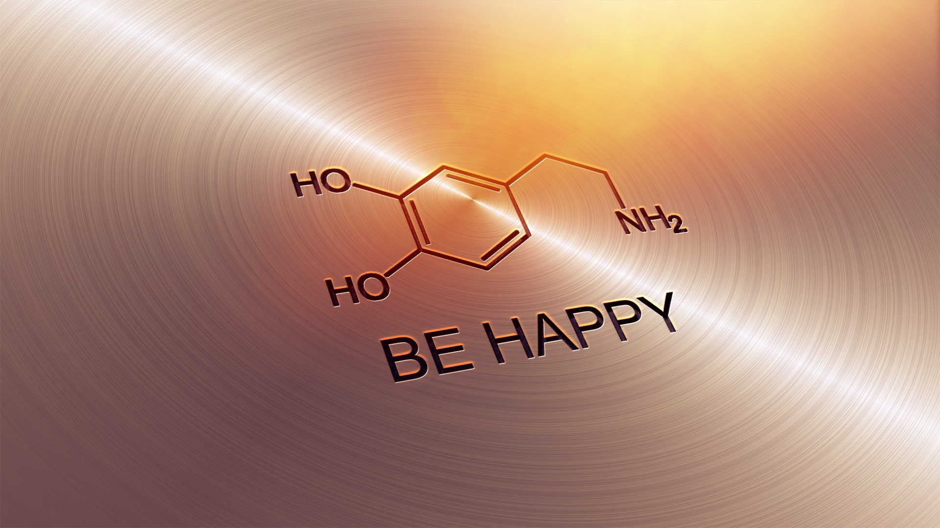 Dopamine be happy
