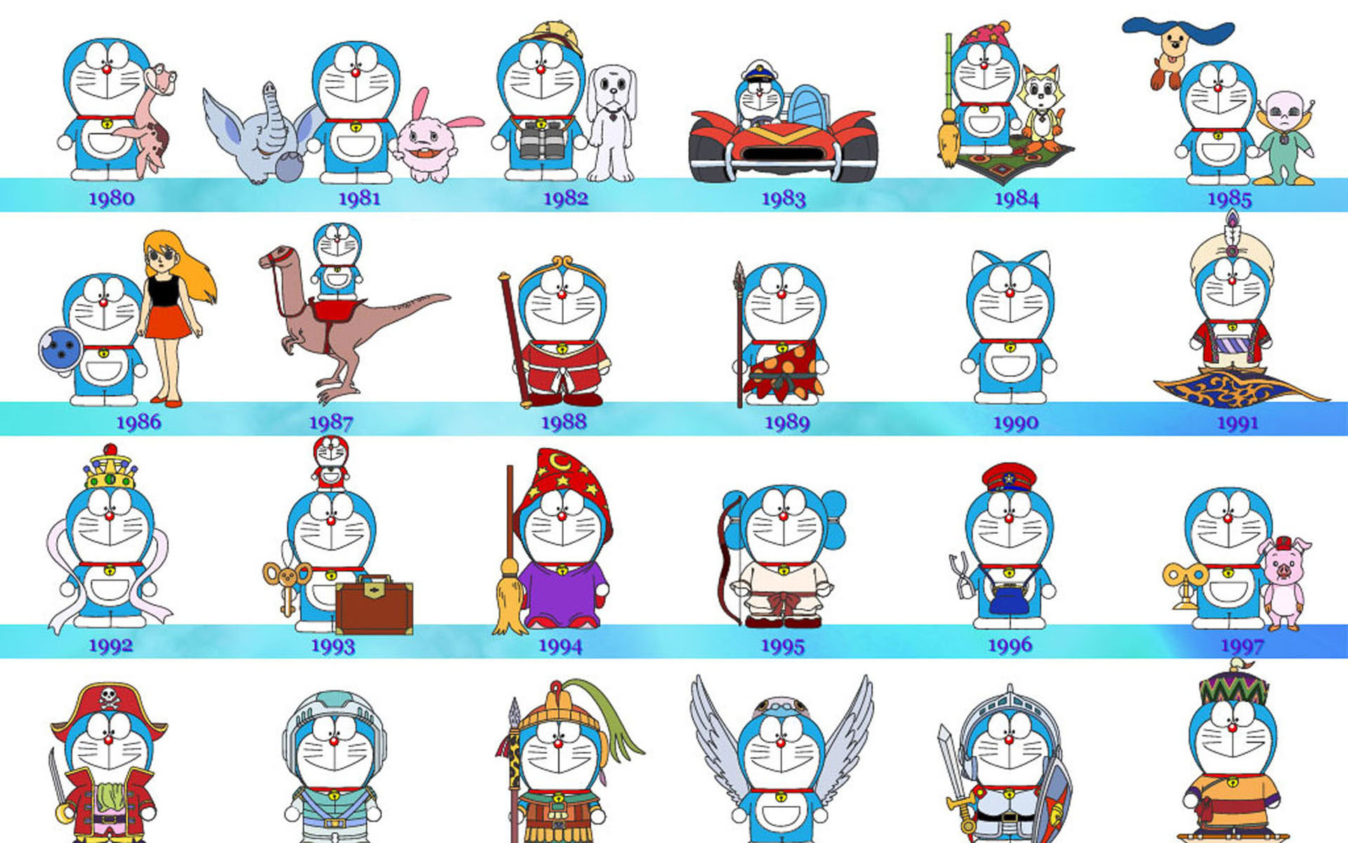 Doraemon Icon Free Wallpaper HD Phone