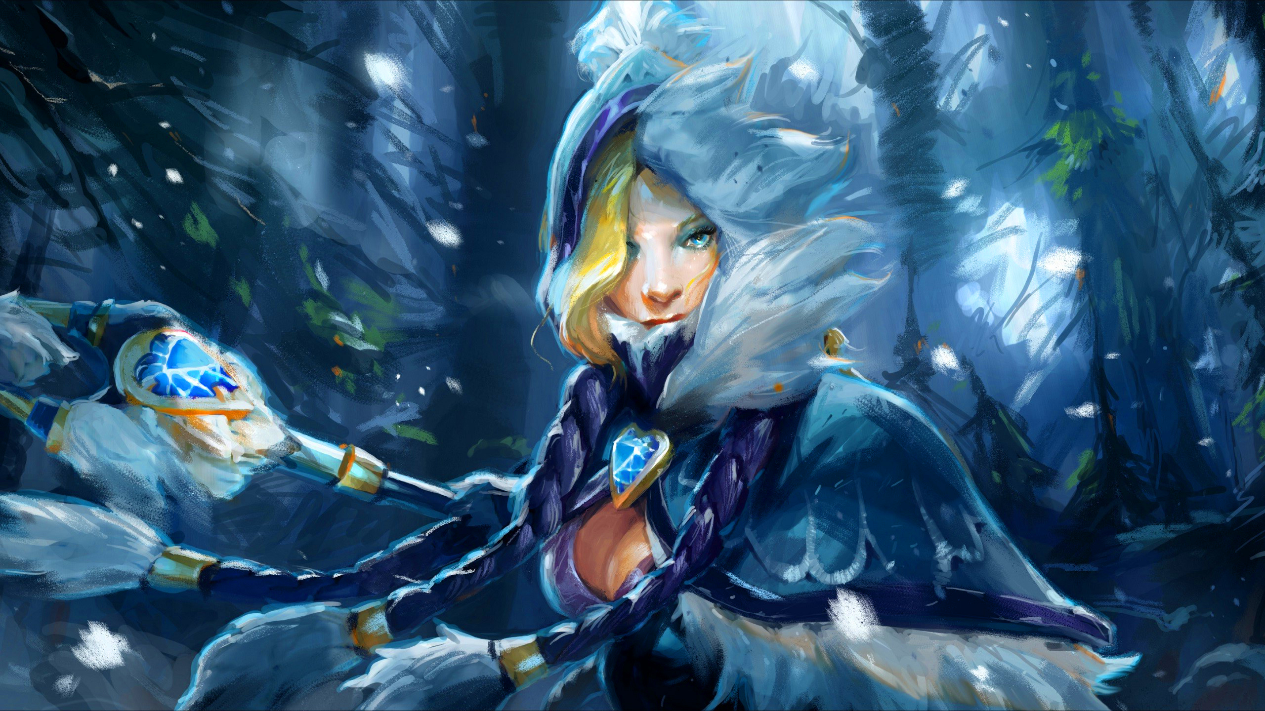 Dota 2 rylai the crystal maiden