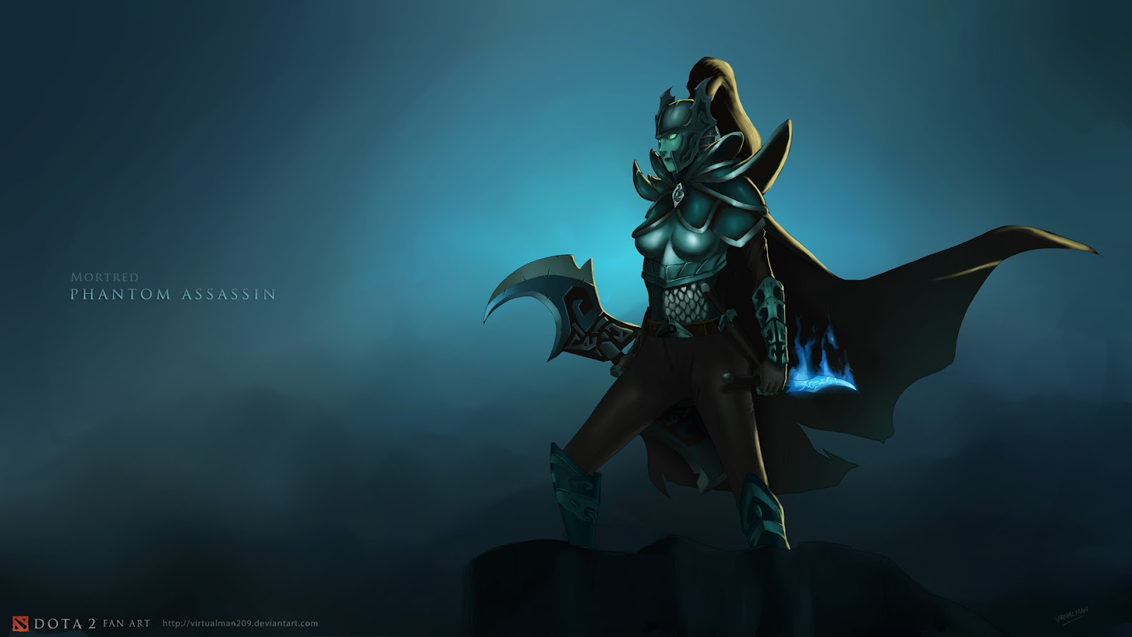 DOTA 2. Res: 1600x900 / Size:93kb. Views: 134831