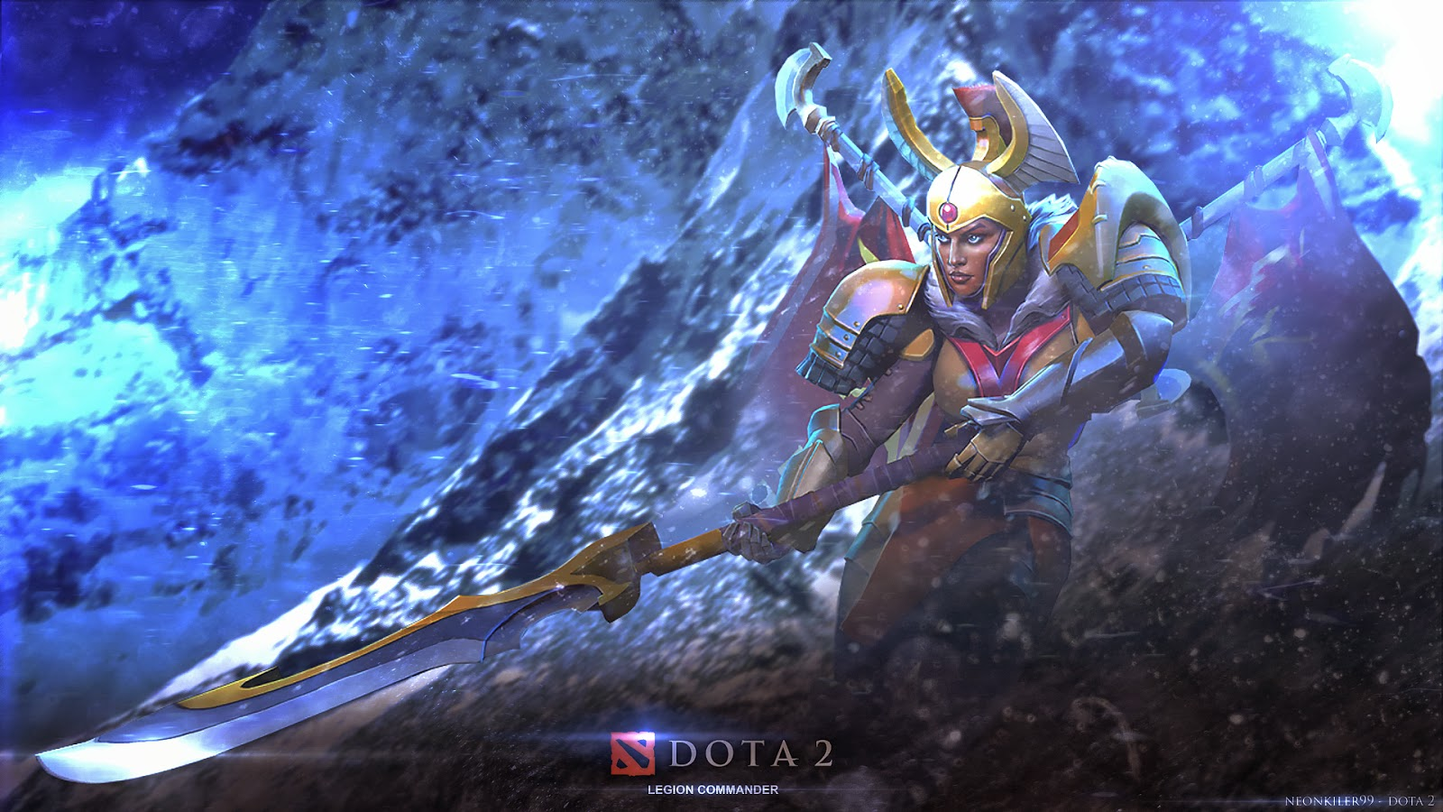 Legion Commander dota 2 wallpaper