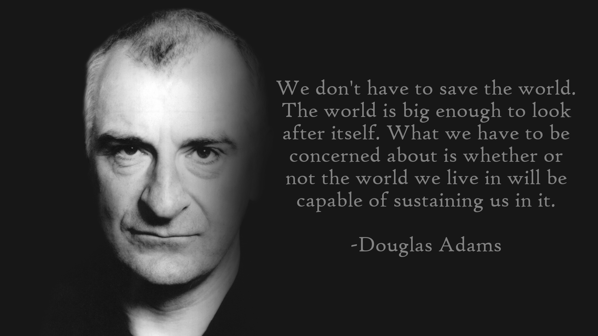 Net The 10 Most Overlooked Existential Quotes of Douglas Adams | Nerd .