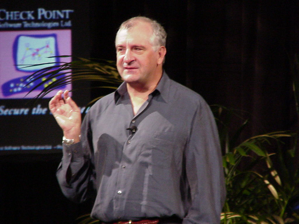Douglas Adams in March 2000