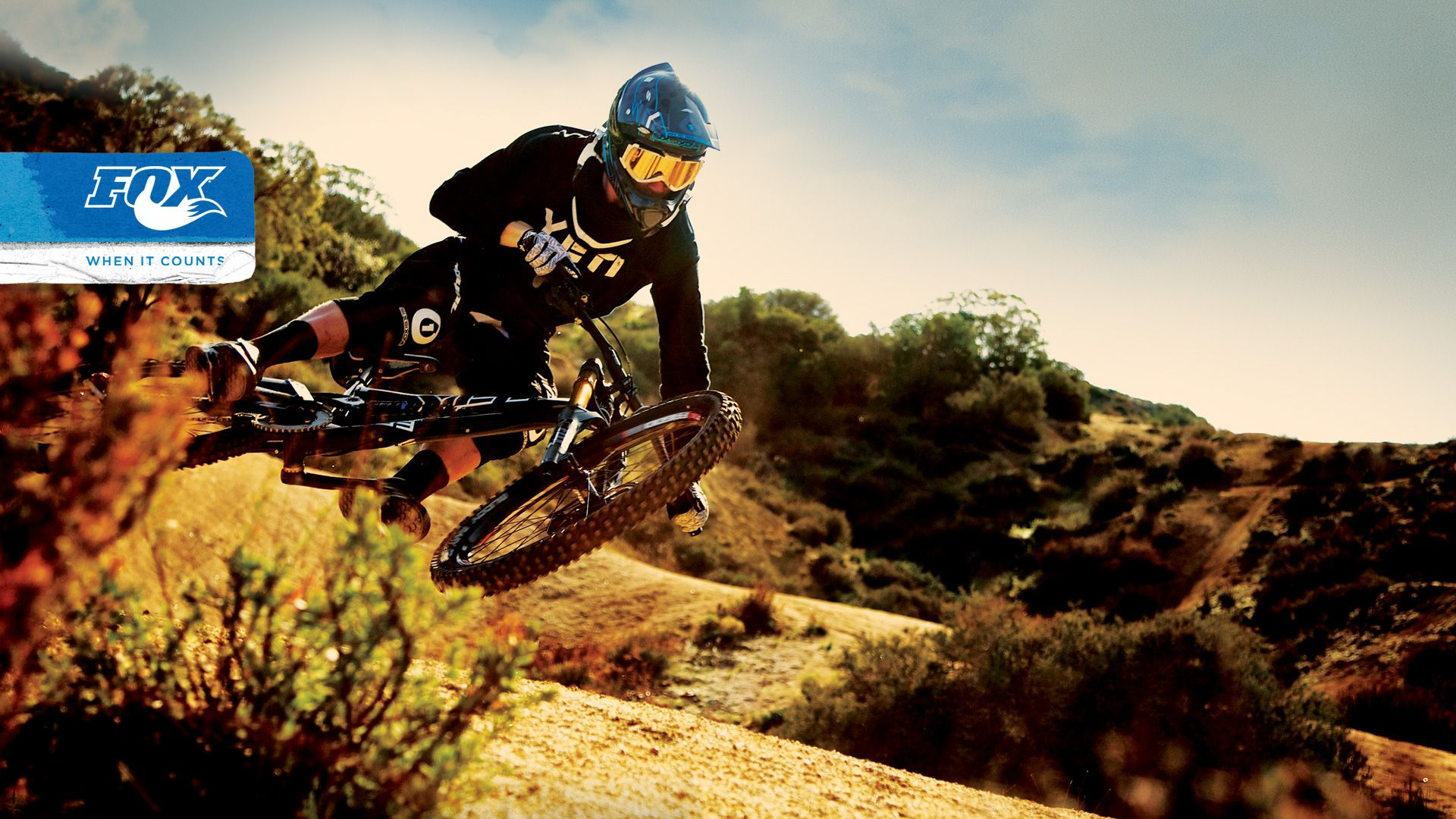 Downhill Wallpaper