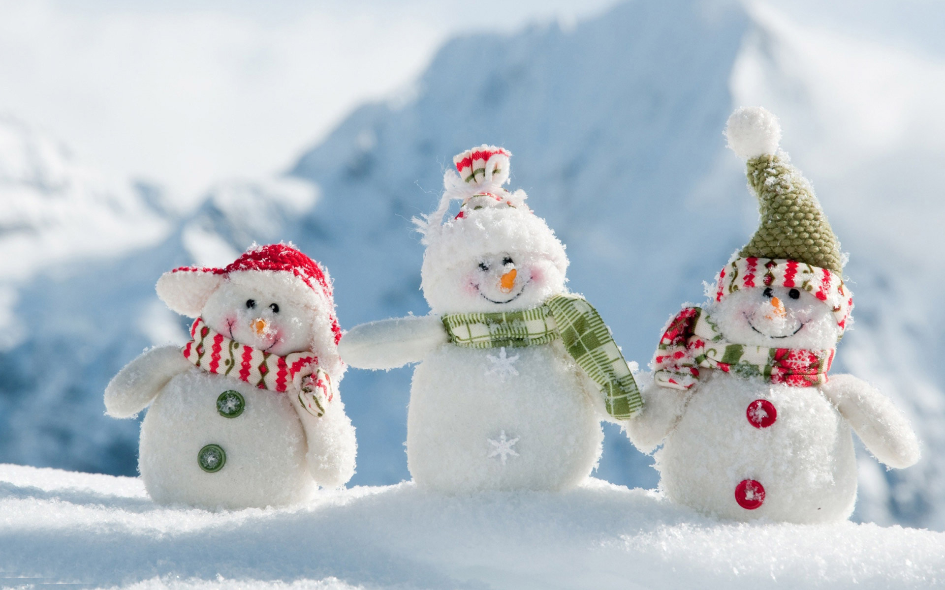 Download Snowman Wallpaper