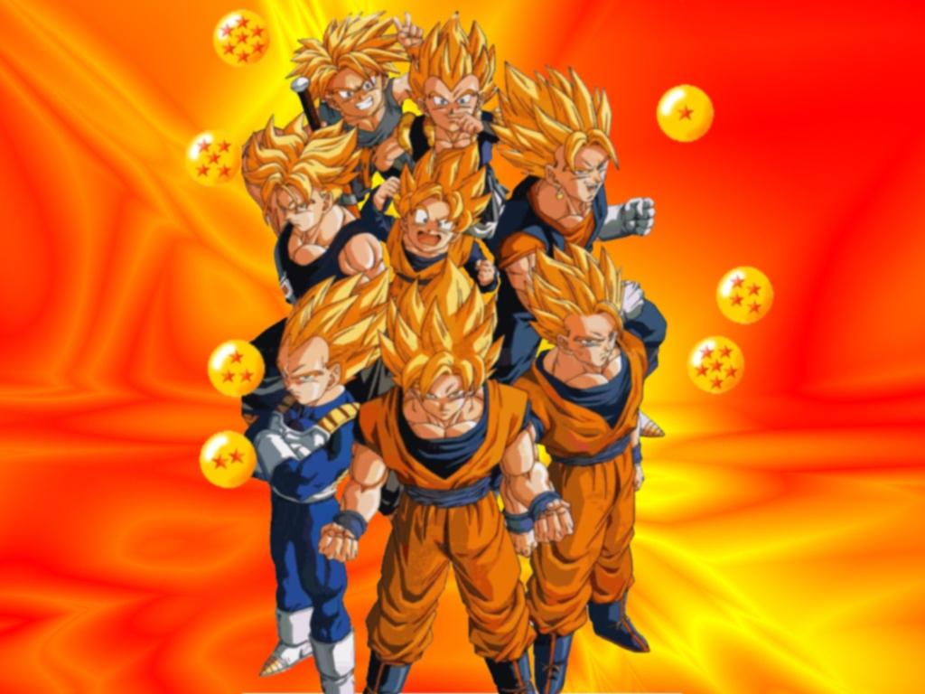 DBZ - dragon-ball-z Wallpaper