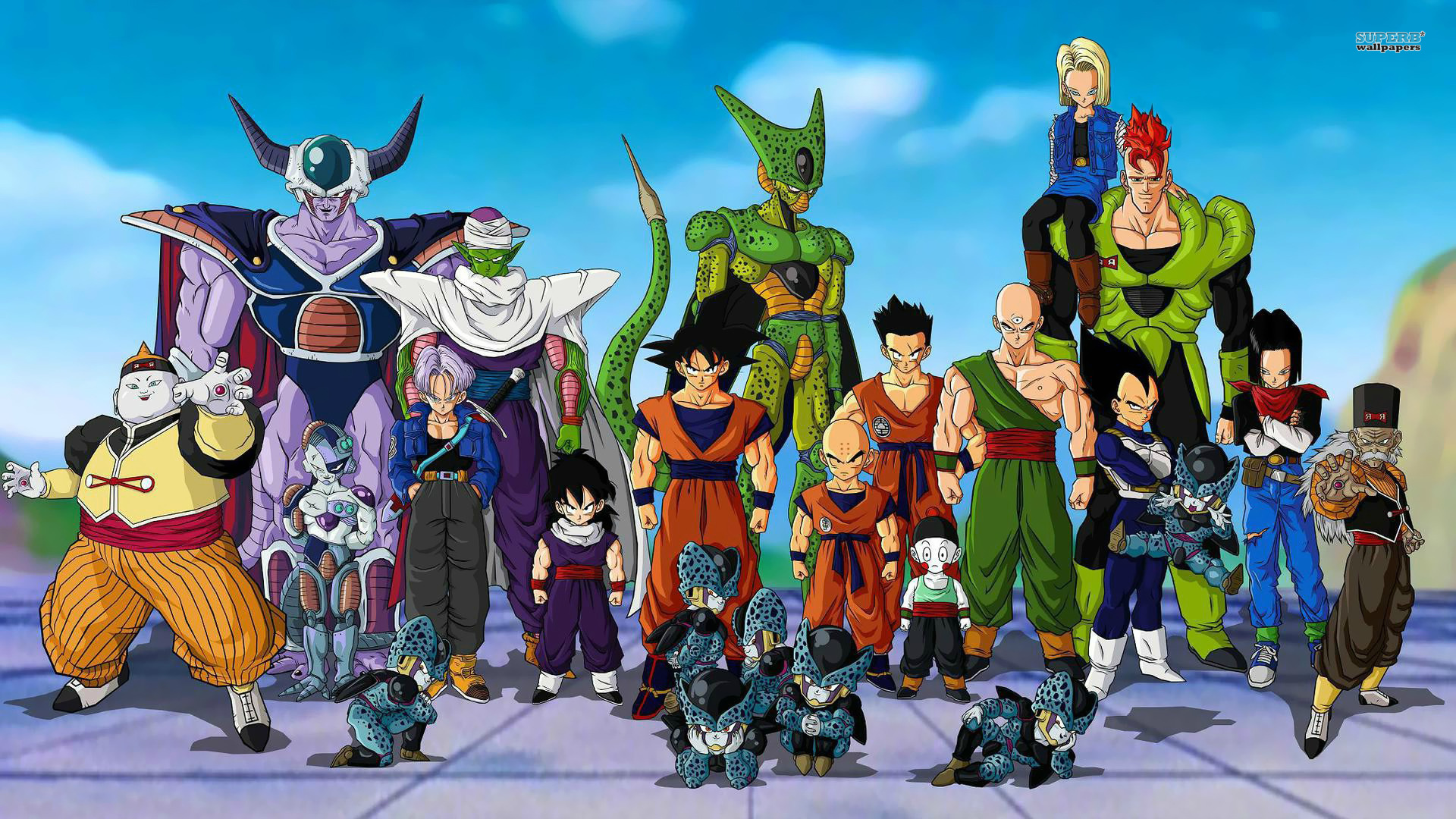 Dragon Ball Z wallpaper 1920x1080 jpg