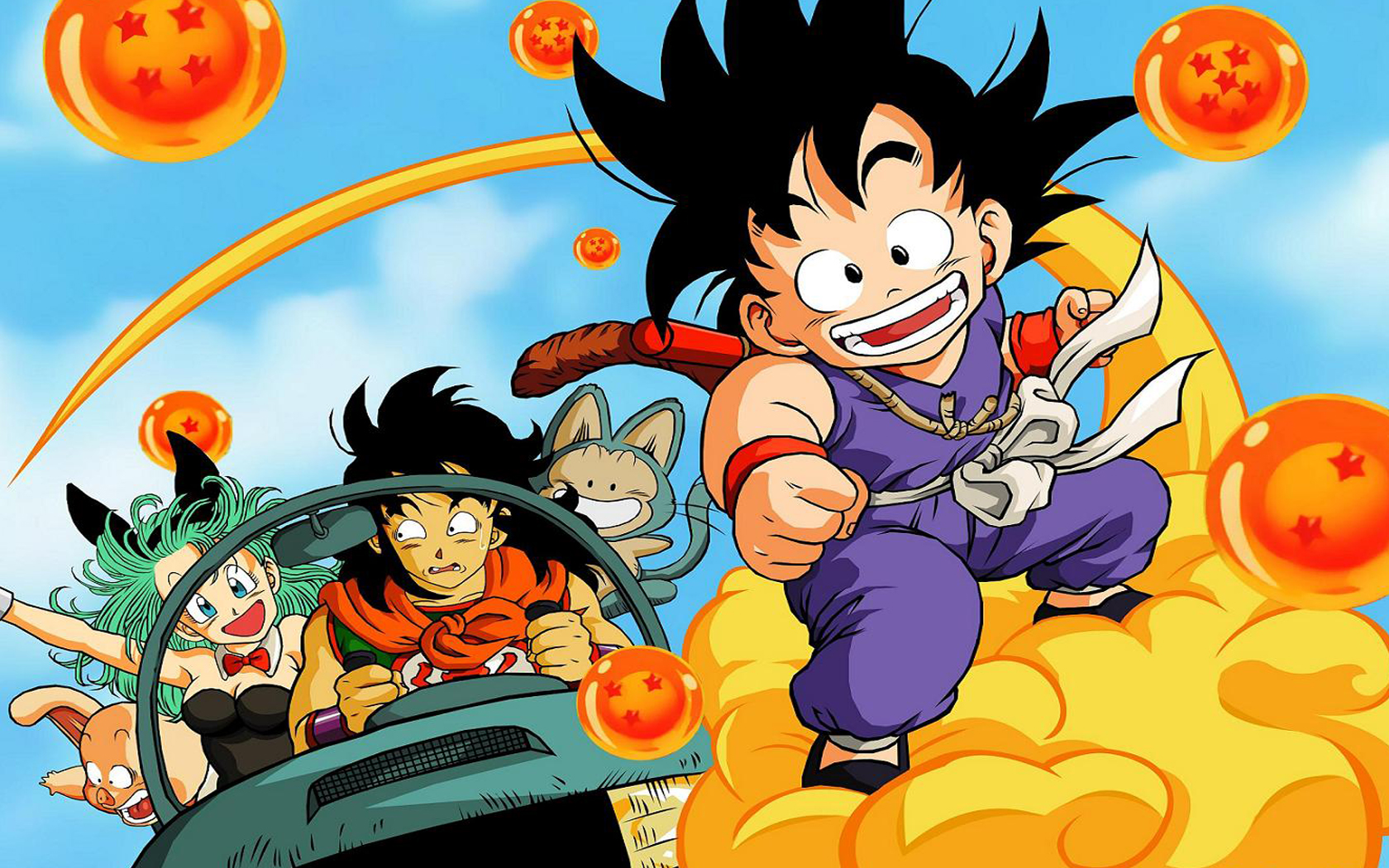 Dragon Ball Z Res: 1680x1050 / Size:1252kb. Views: 2338507