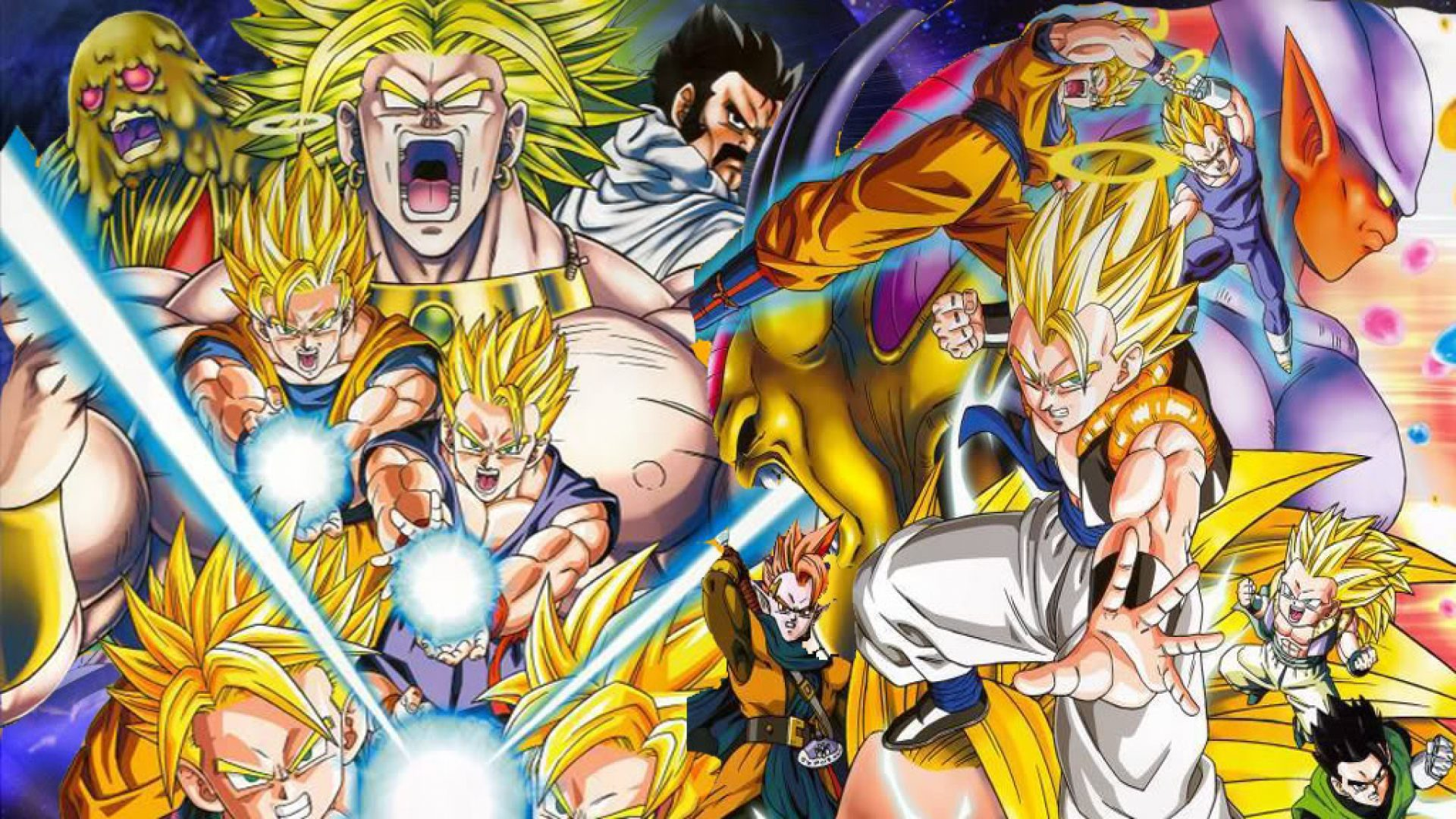 Súper guerreros de Dragon Ball Z - 1920x1080