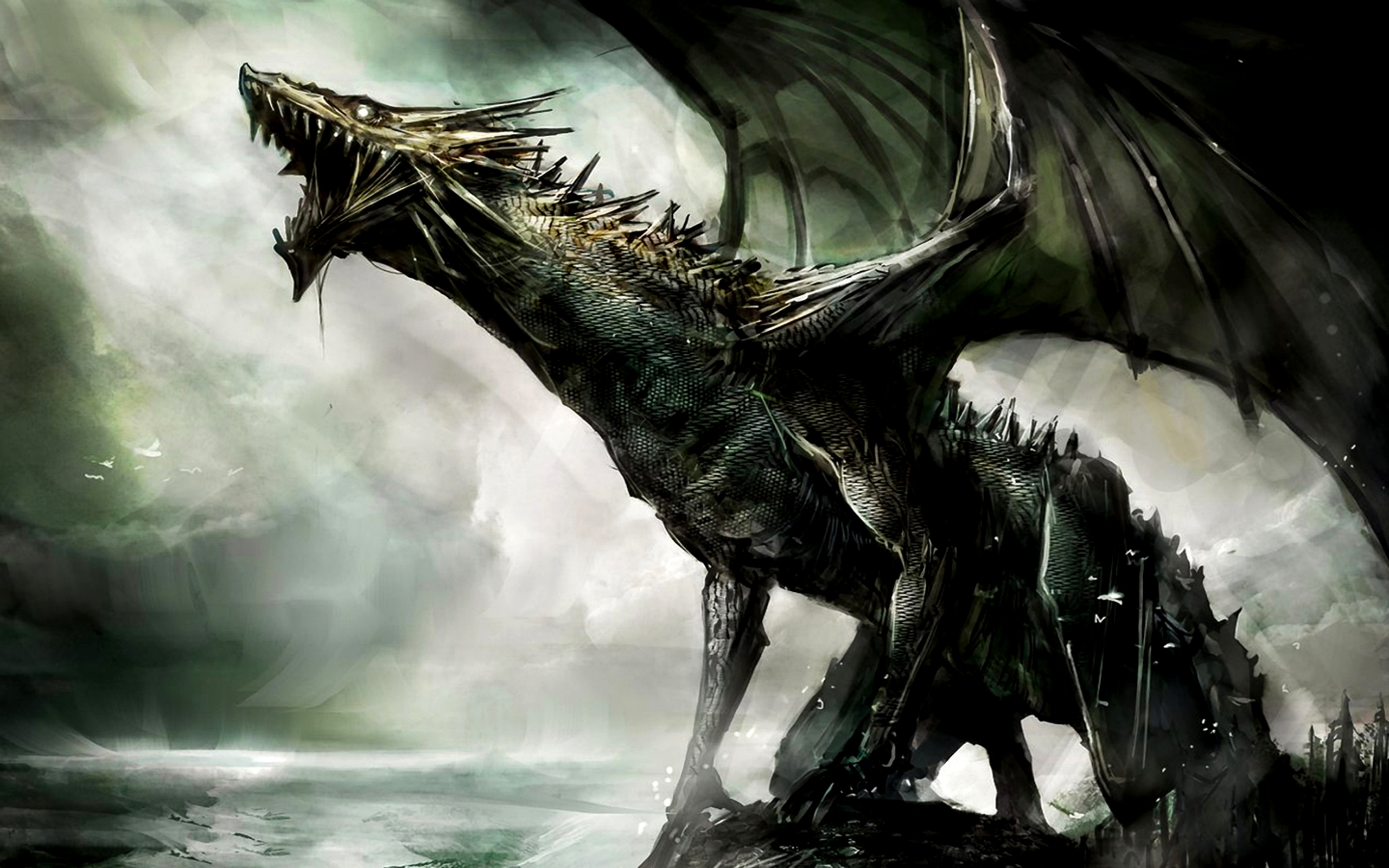 3D Dragon Fantasy Wallpapers1