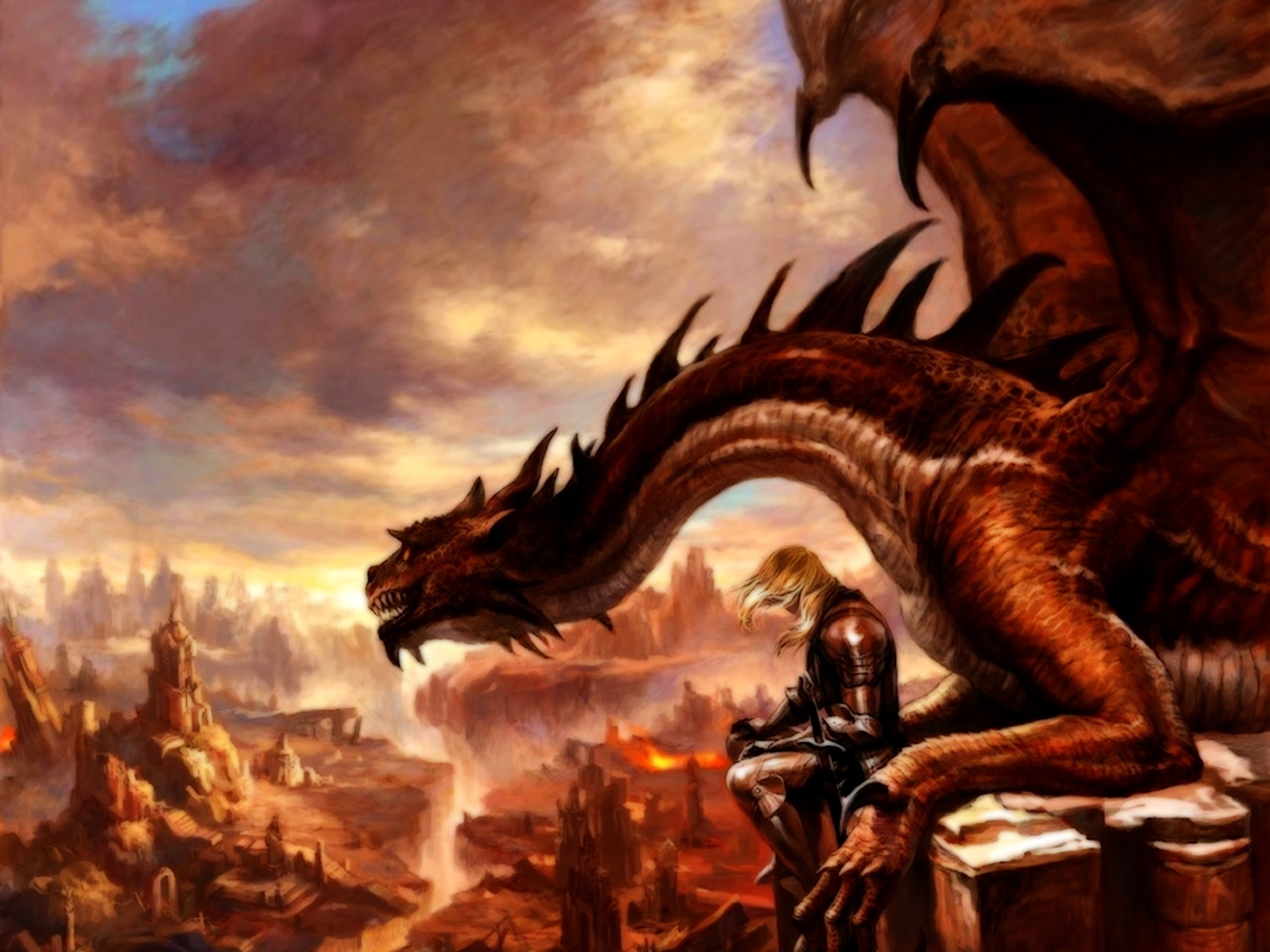 2560x1920 Dragons Fantasy wallpaper