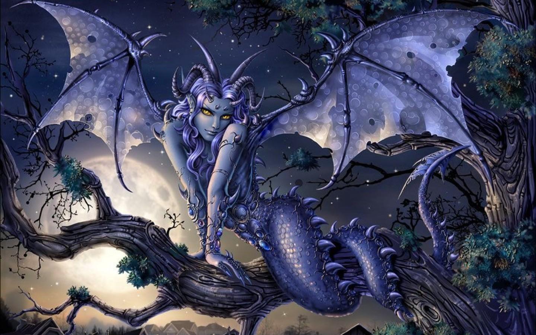 Fantasy Dragon Girl From Dragons