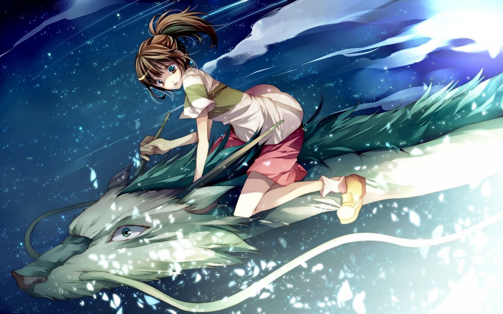 Dragon Girl Art Anime