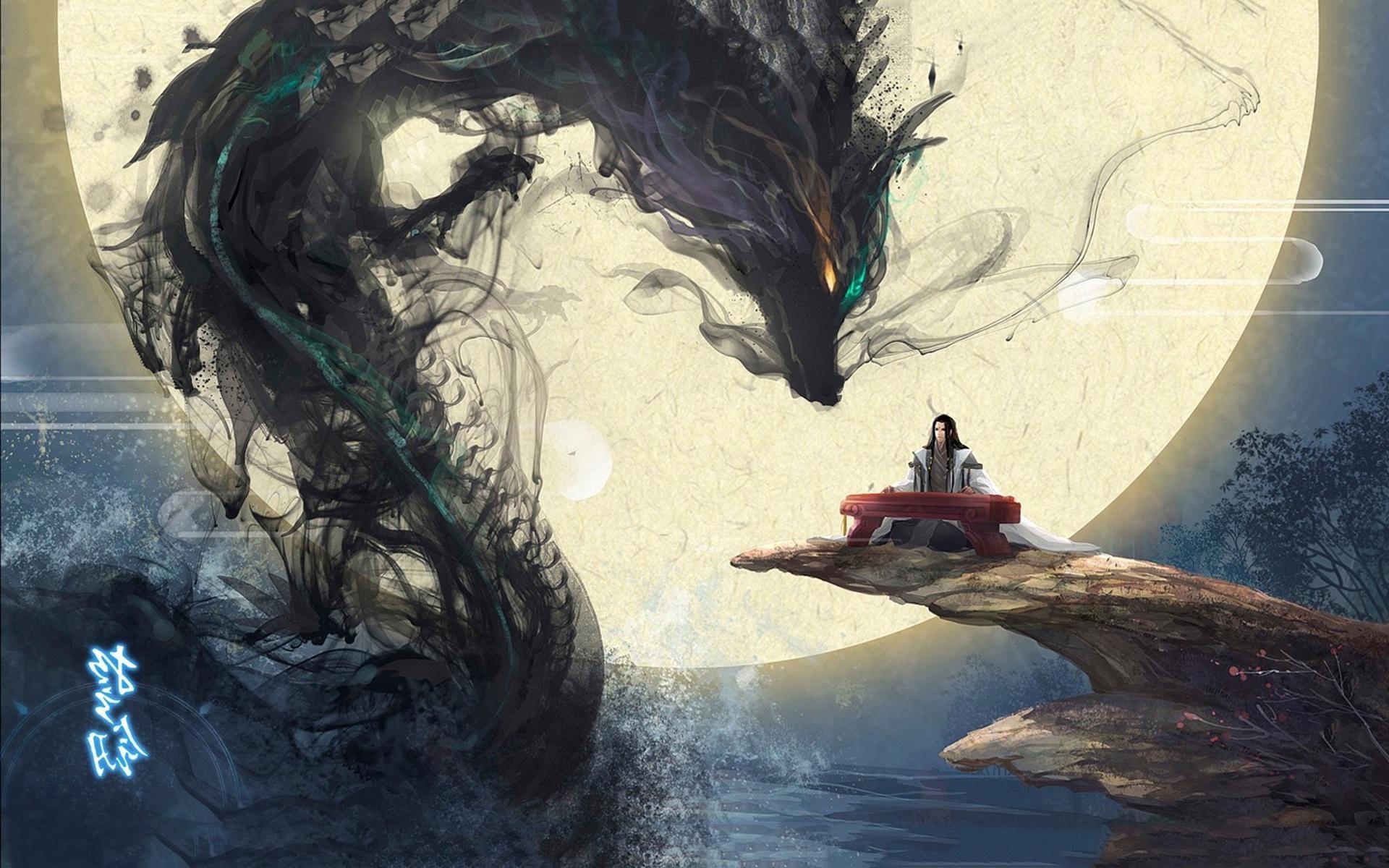 Dragon music