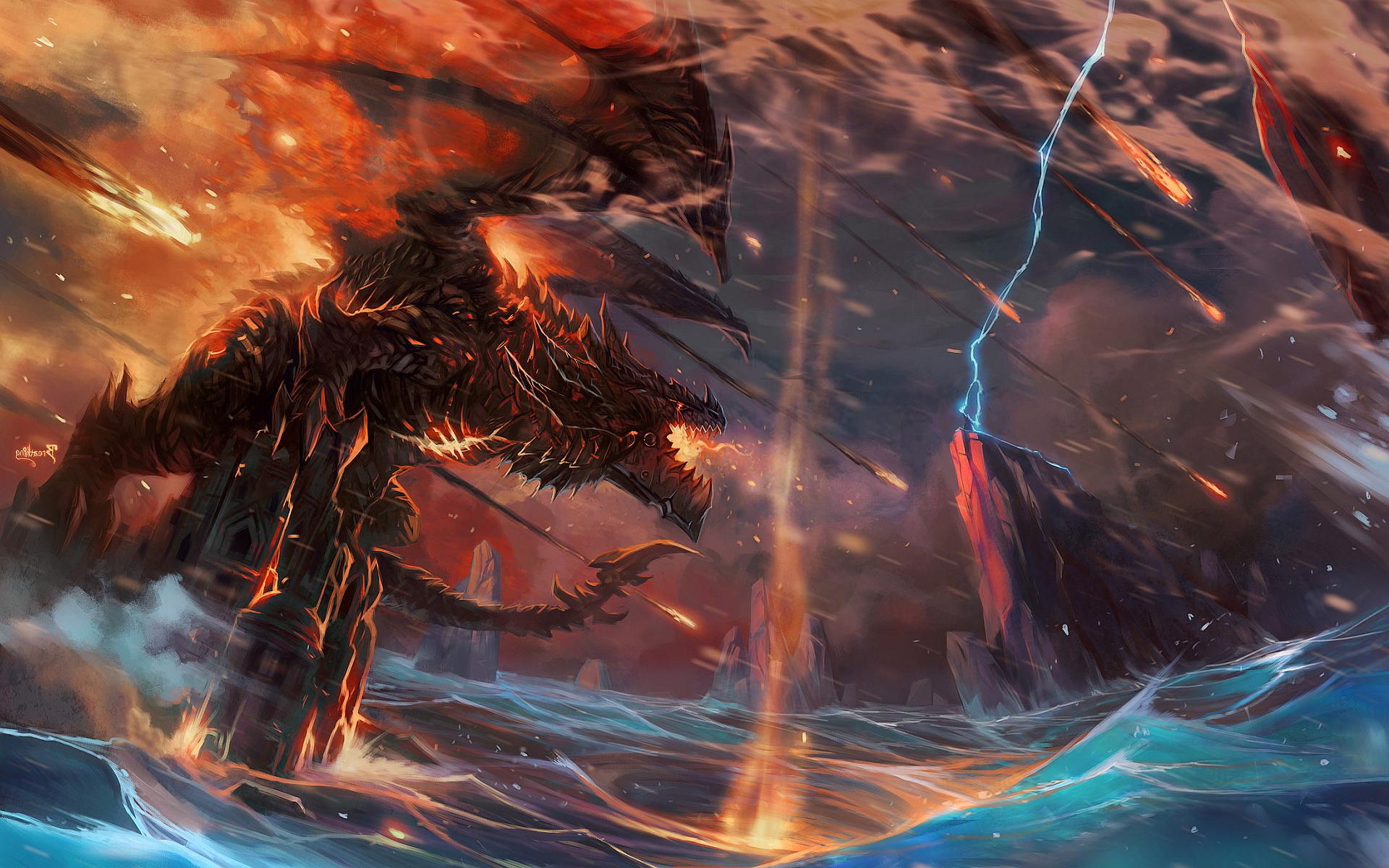 Dragon wow art