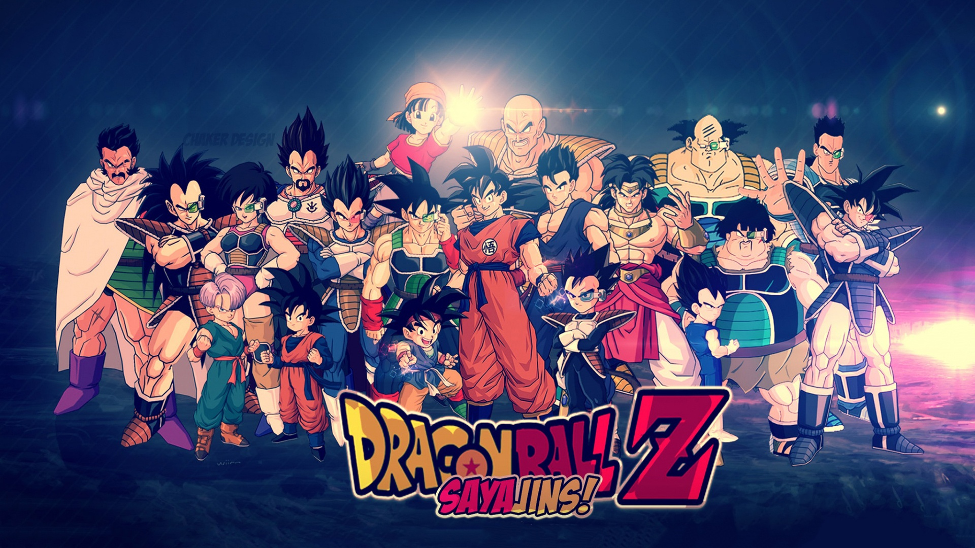 Dragon Ball Z Sayajins