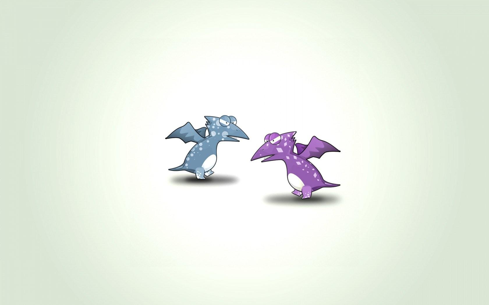 Dragons Fantasy Art Funny Cartoon