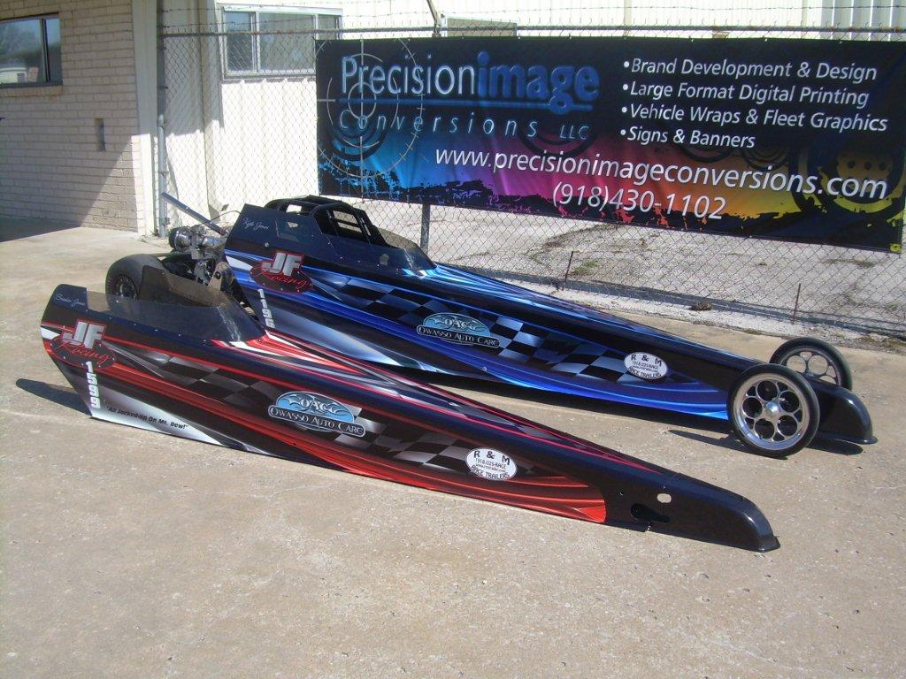 Rob Jones and his family are serious about speed! His 11 and 13 yr old sons are hooked on racing Jr Dragsters. Don't think these scaled down ...