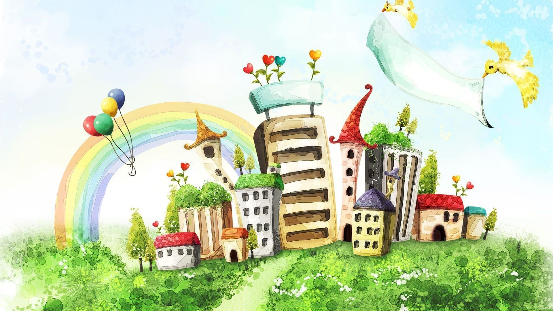 Drawing Buildings City Art