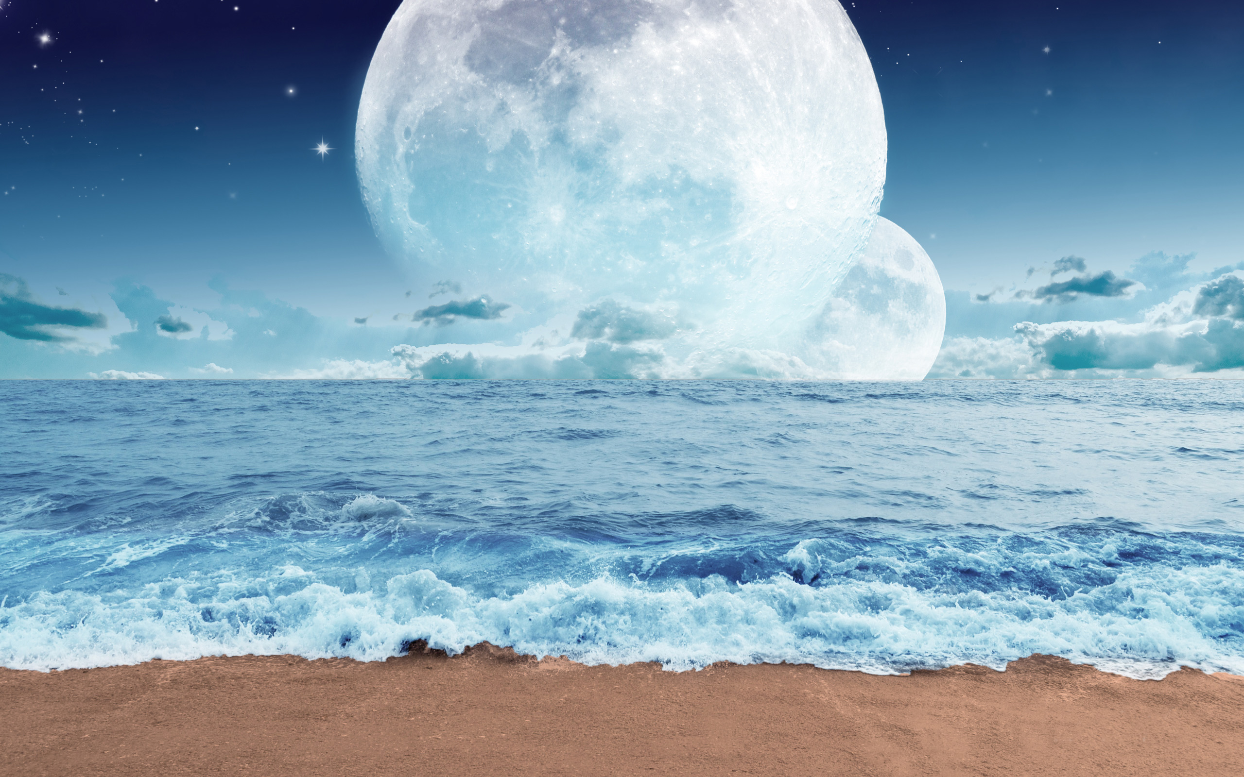 Dream Ocean Planet Art