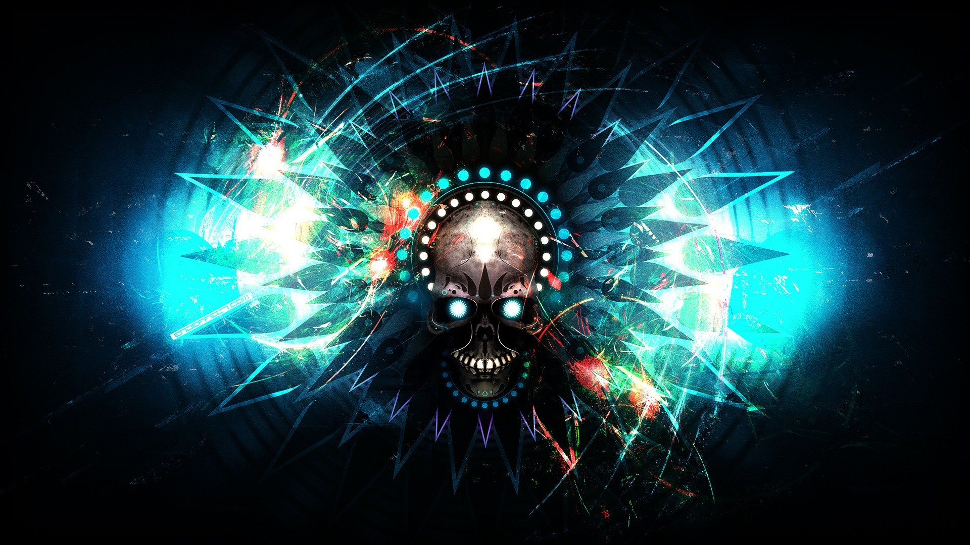 Dubstep Skulls wallpaper