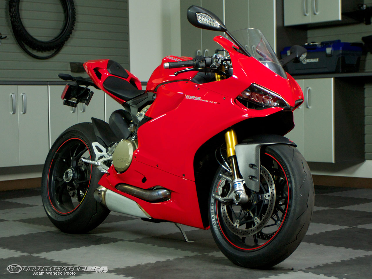 2012 Ducati 1199 Panigale S Superbike Street Smackdown Photos - Motorcycle USA