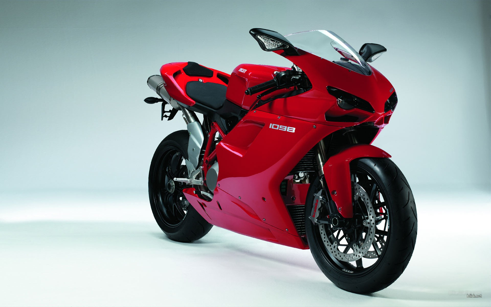 Ducati Red Motorcycle