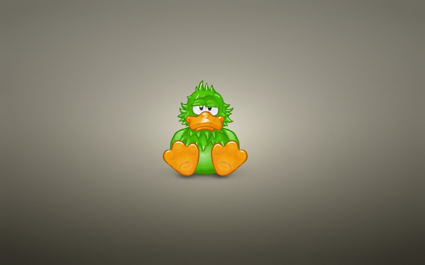 Duck Green Minimalism