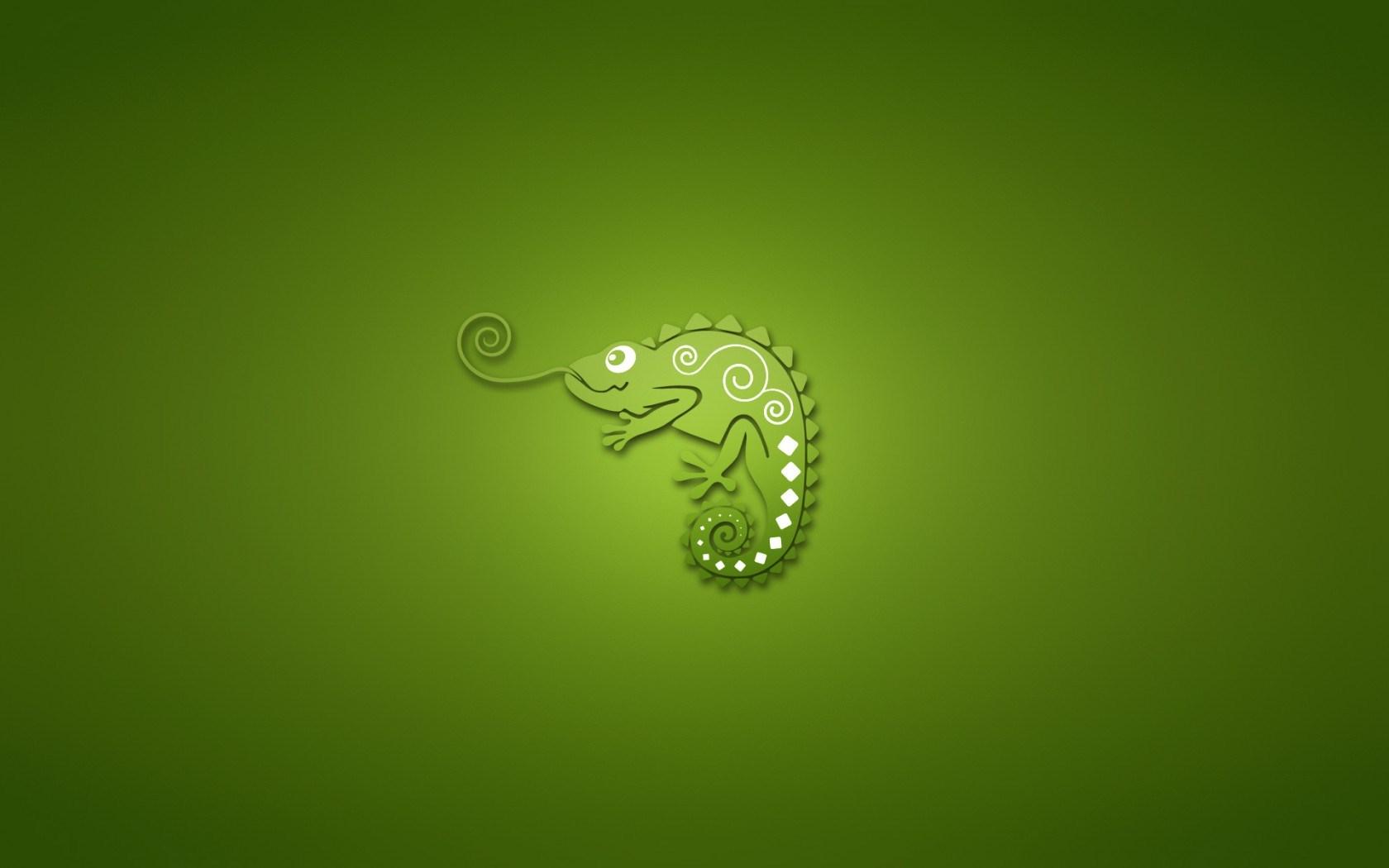 Chameleon Green Minimalism