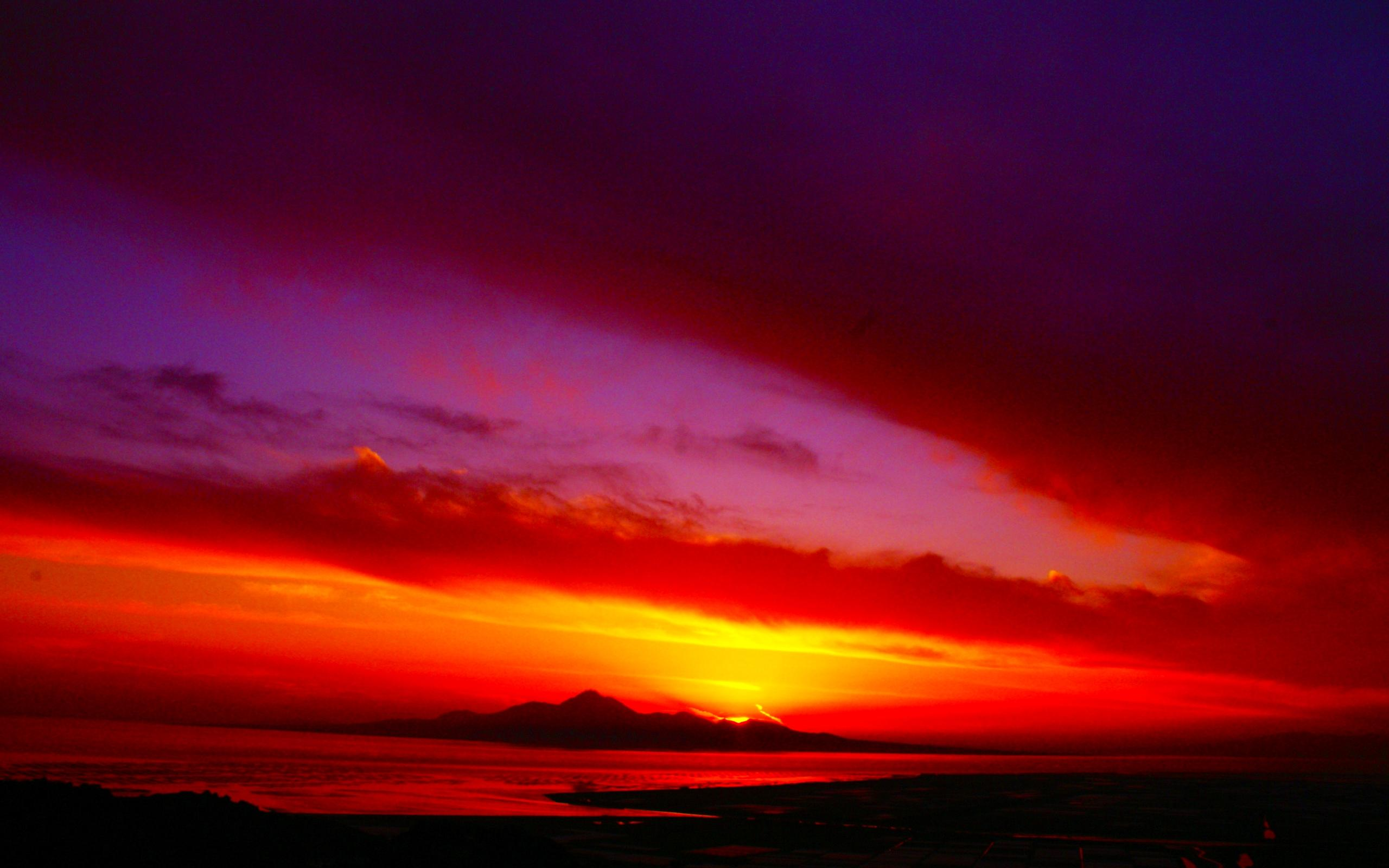Amazing Colors Of Dusk Wallpaper #28494 - Resolution 2560x1600 px