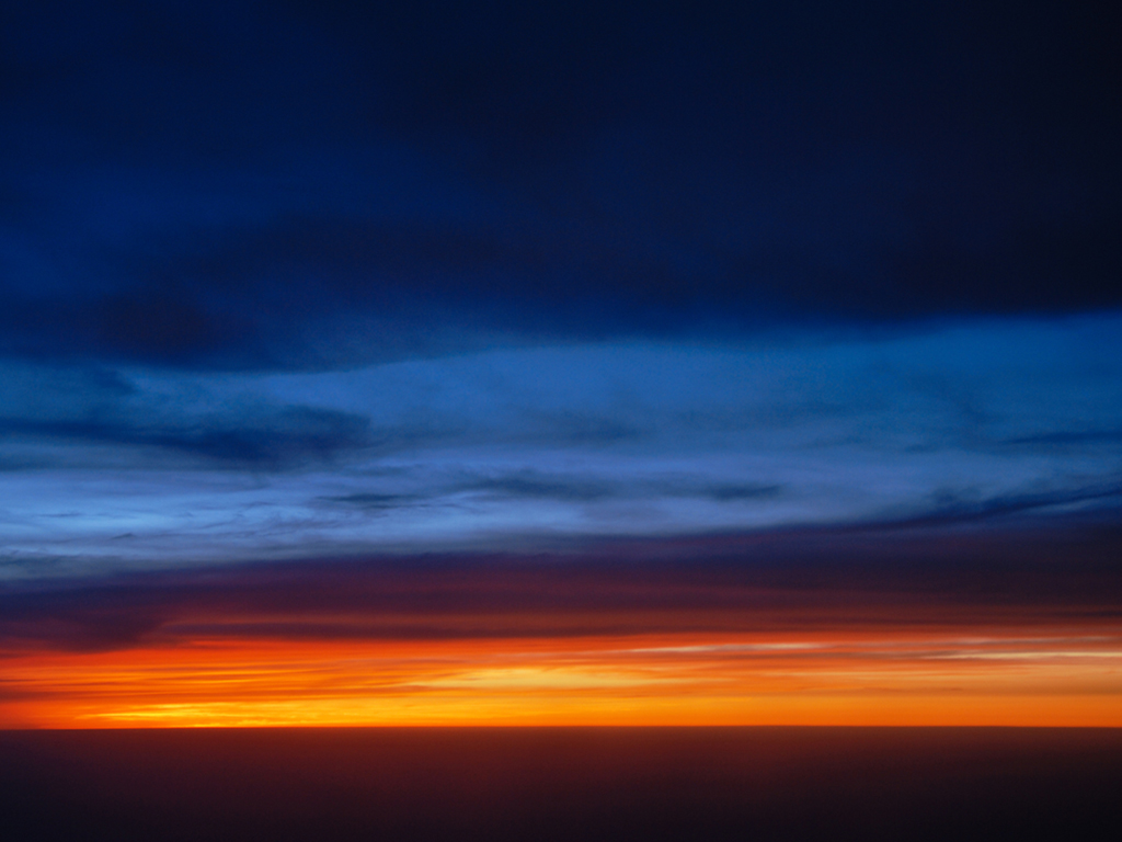 The dusk landscape wallpaper Desktop Background