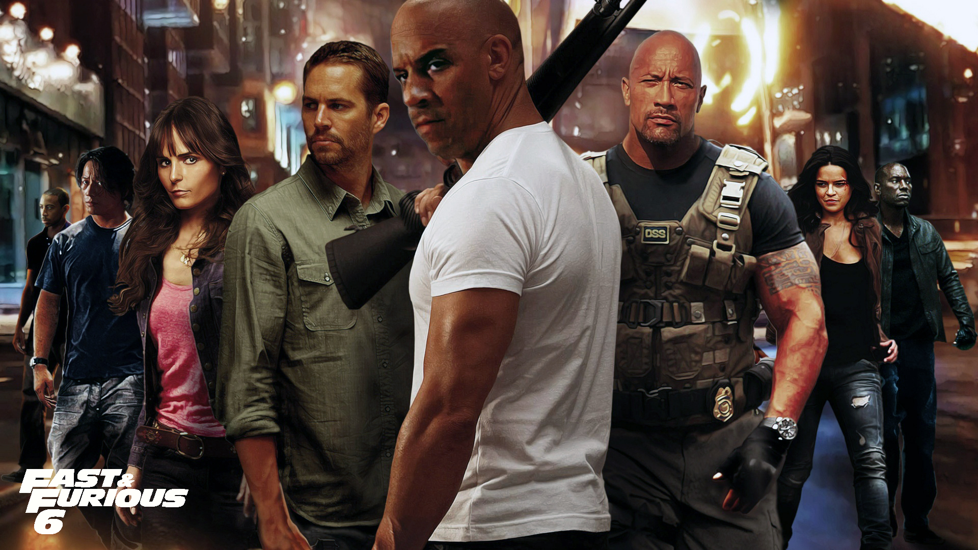 Dwayne Johnson Fast And Furious Image 9