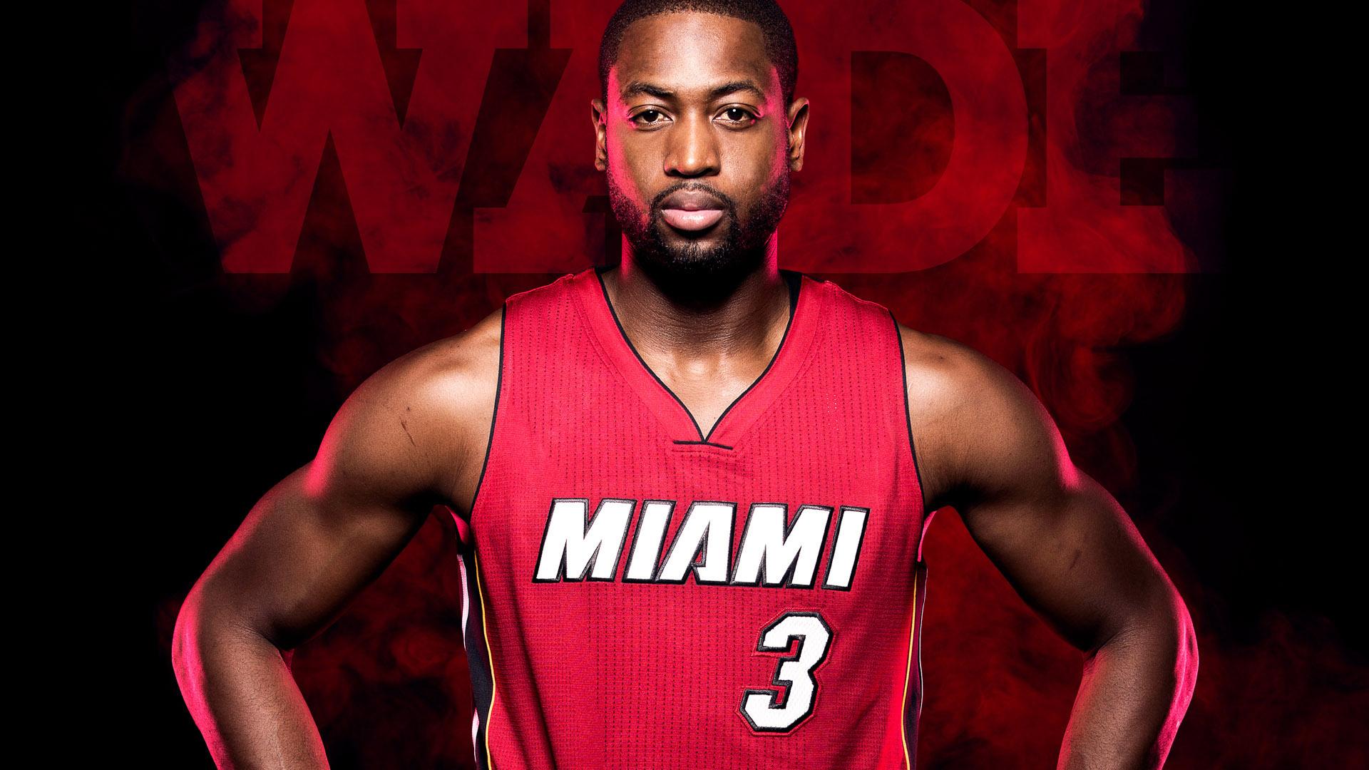 ... Dwyane Wade Miami Heat Players Wallpaper ...