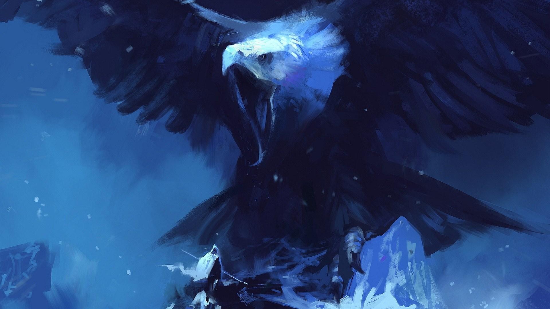 Eagle Bird Artwork