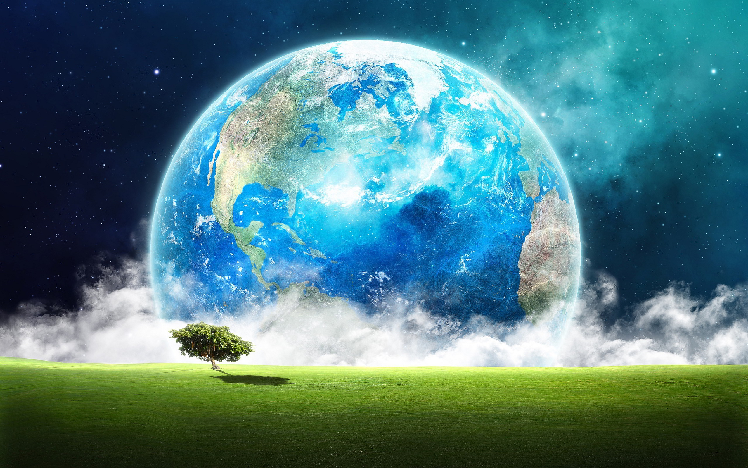 Earth Landscape Art
