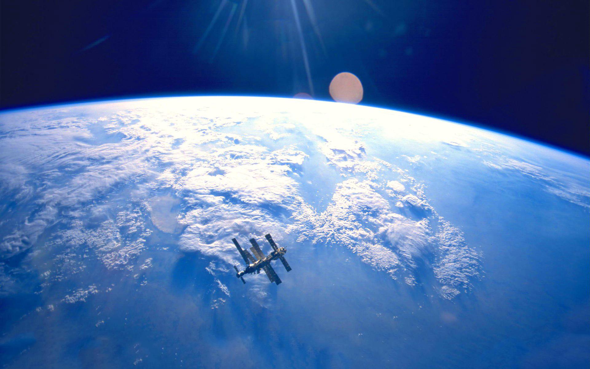Earth space orbit satellite