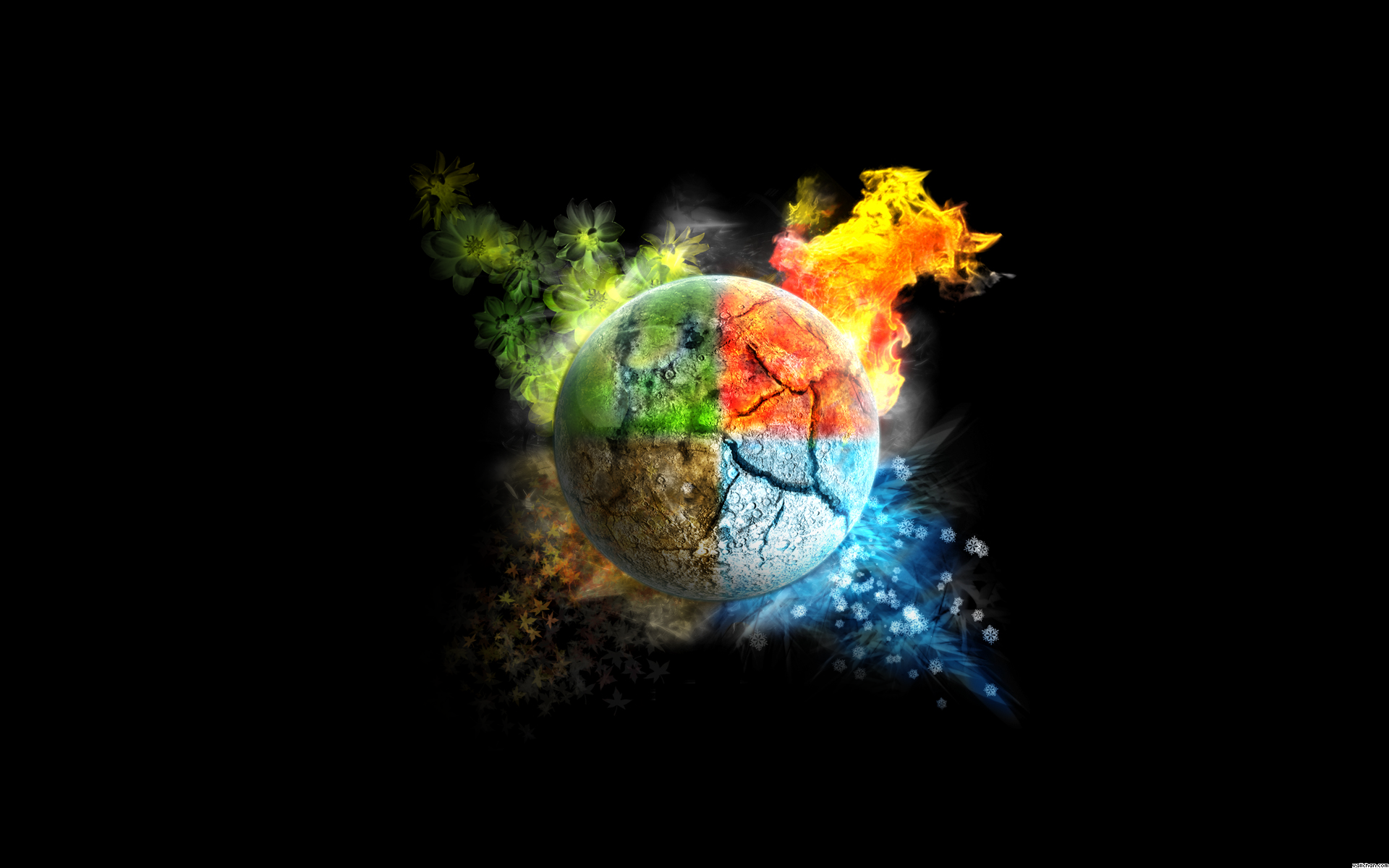 Air Water Earth Fire Signs Earth Wind Fire Water Globe