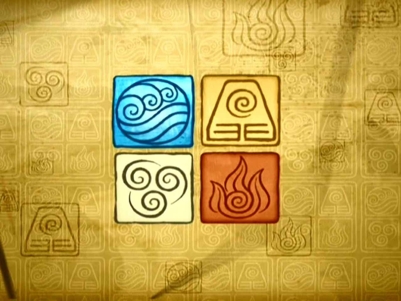 Avatar the last airbender earth air fire water wallpaper HQ WALLPAPER - (#173894)