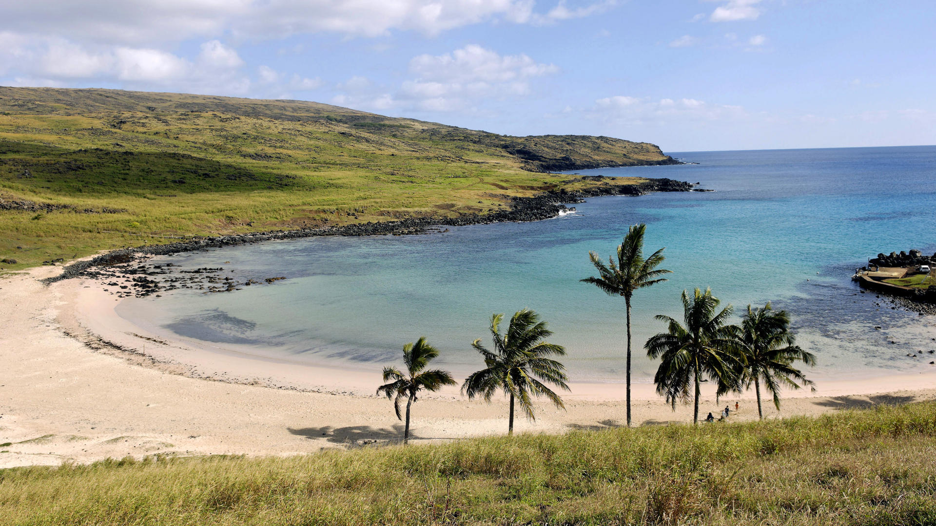 Somewhat recent excavations show that at least 200 of the giant Moai were buried on purpose.