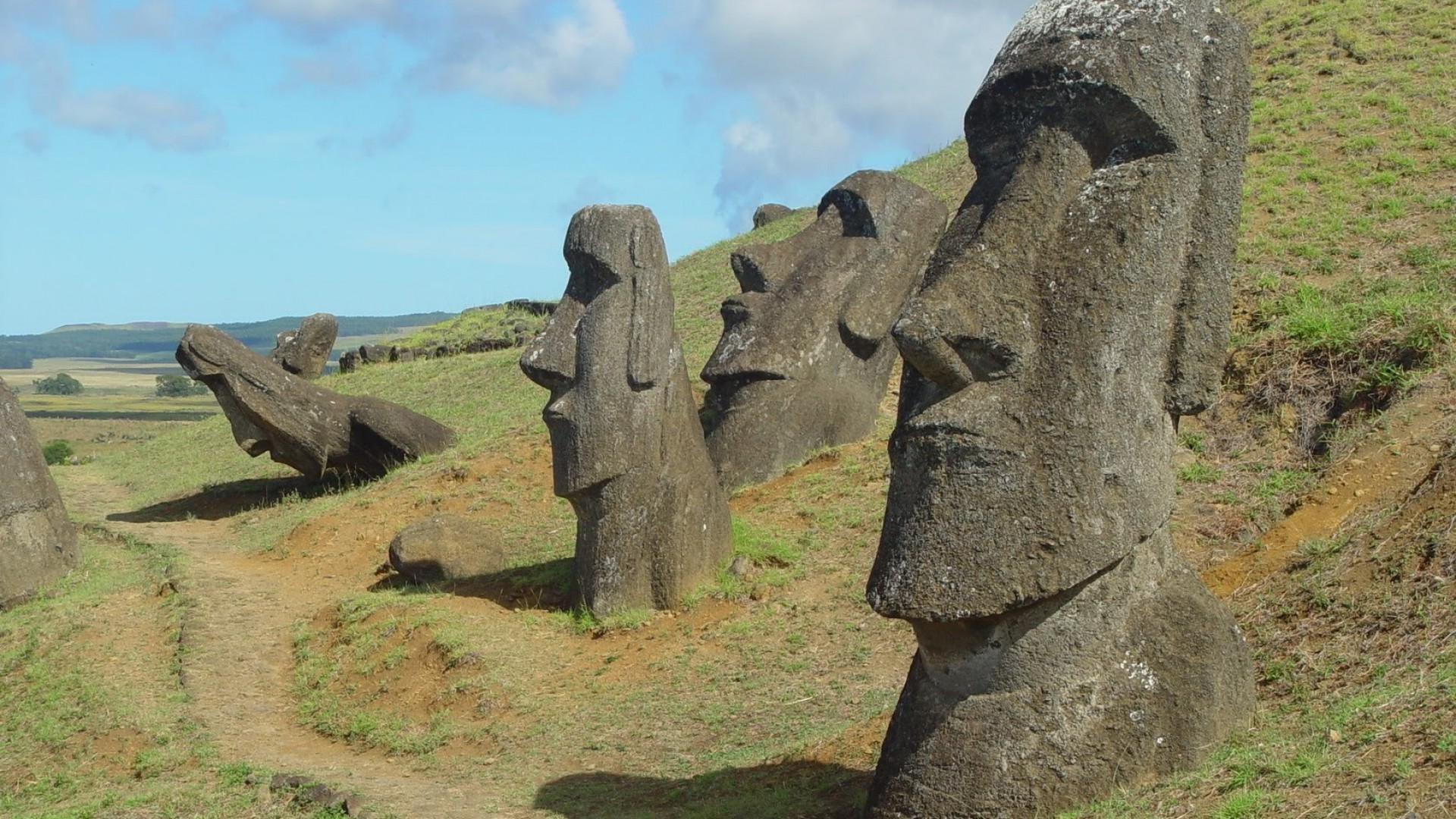 Chile easter island ...