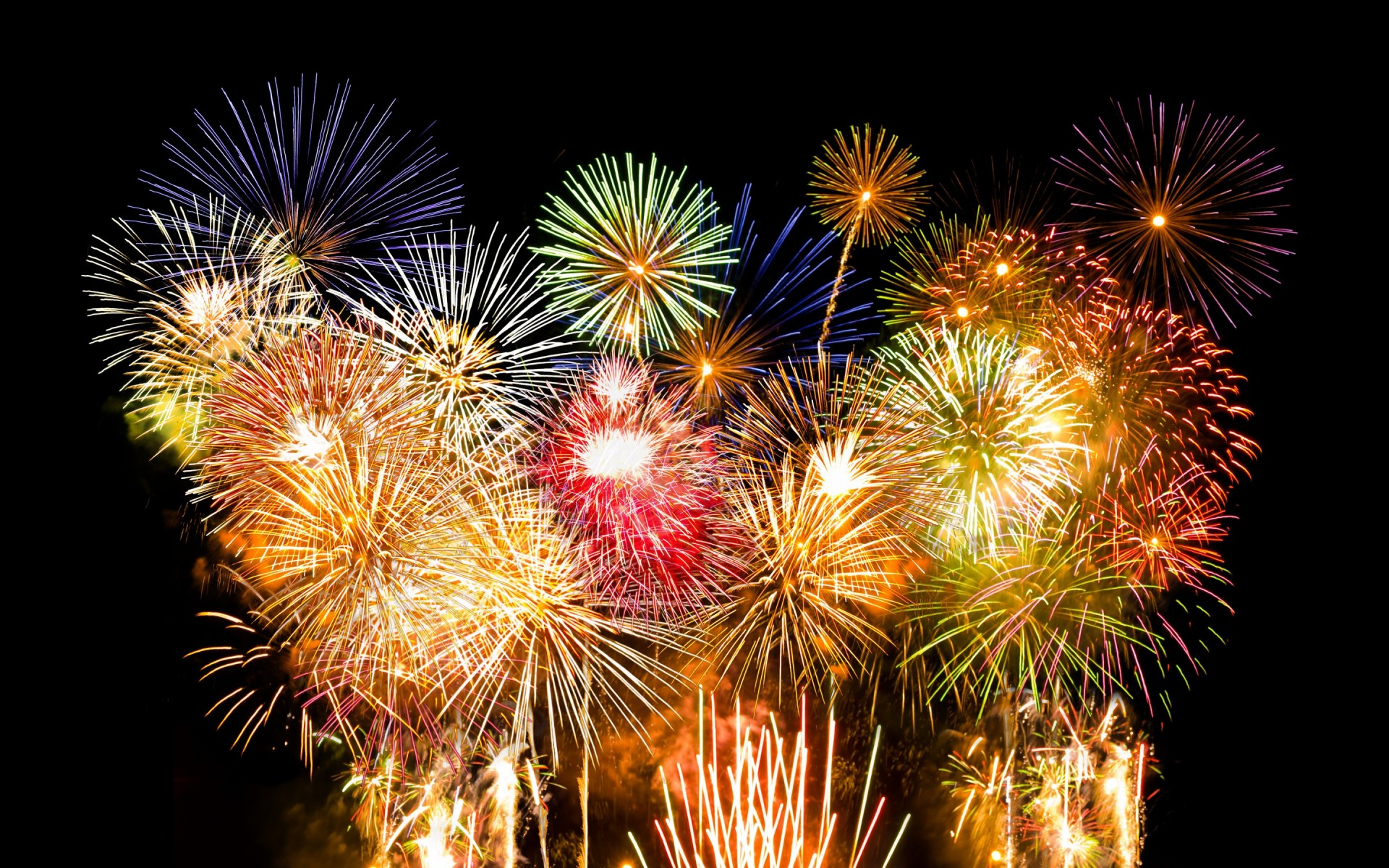 eautiful Fireworks Wallpaper 8649