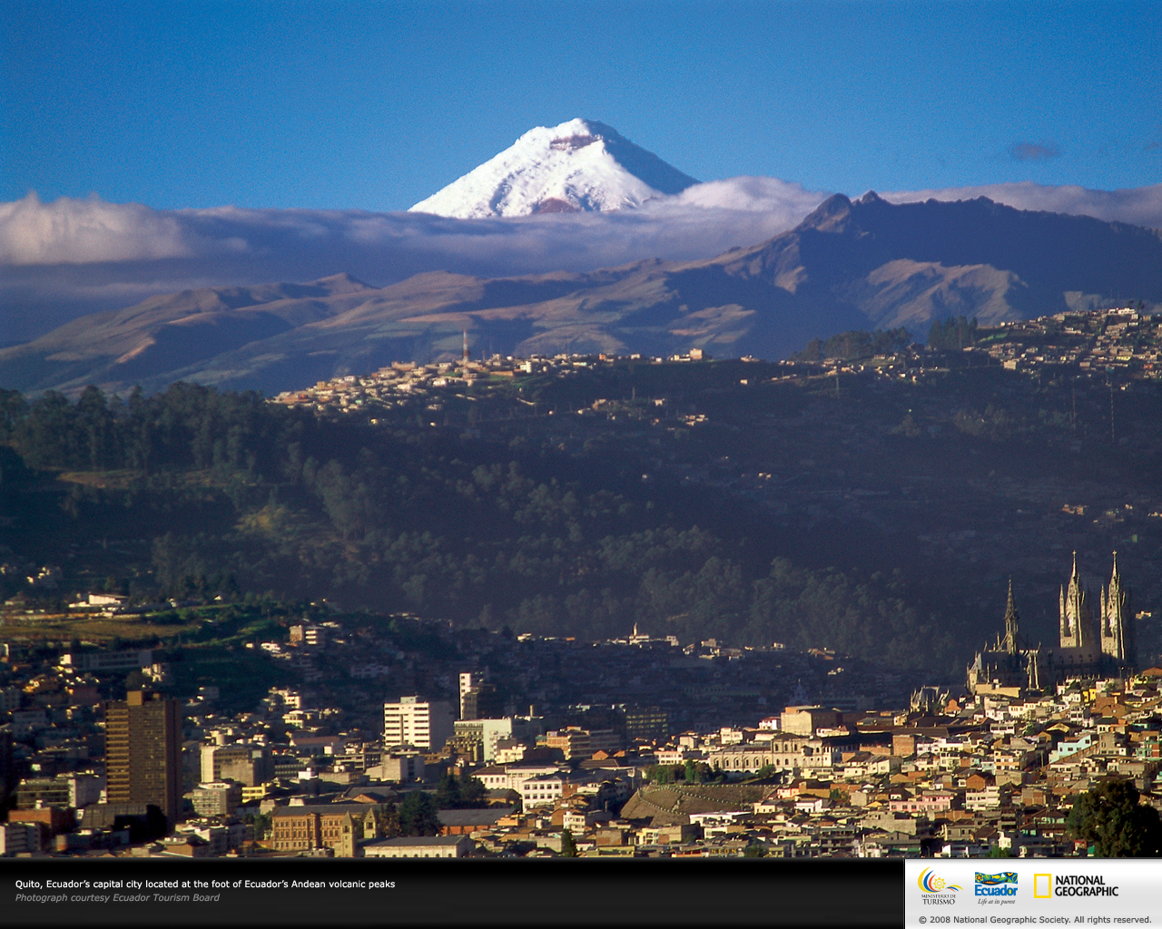 Quito, Ecuador Wallpaper