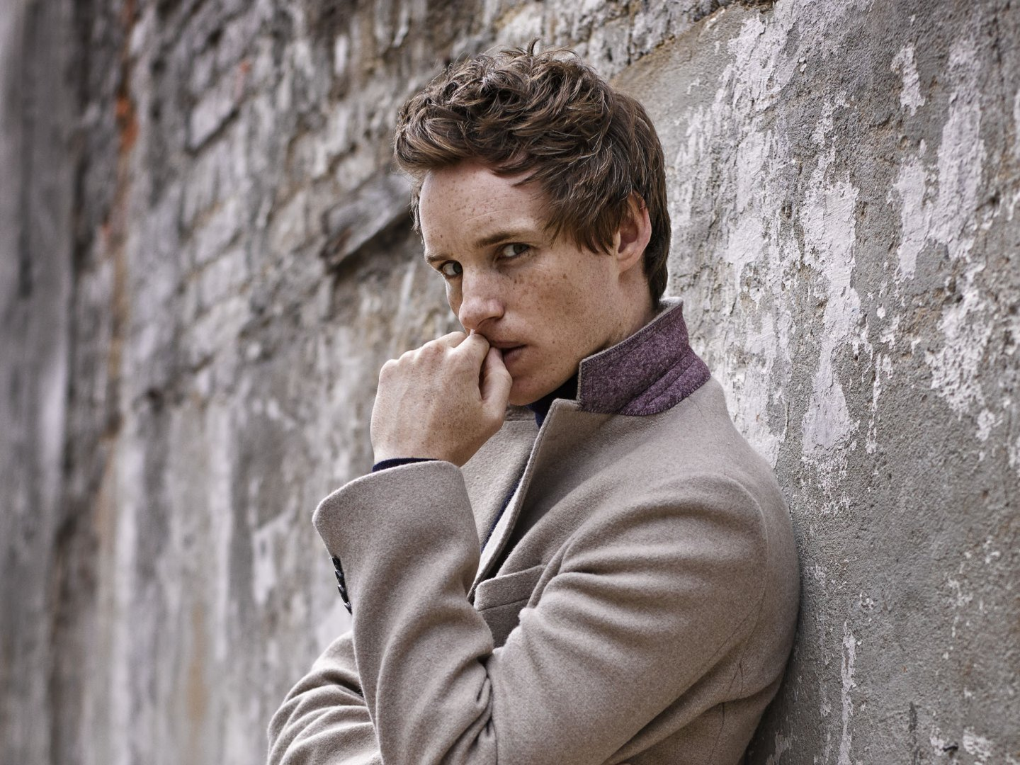 ... Eddie Redmayne Models This Year's Best Winter Coats