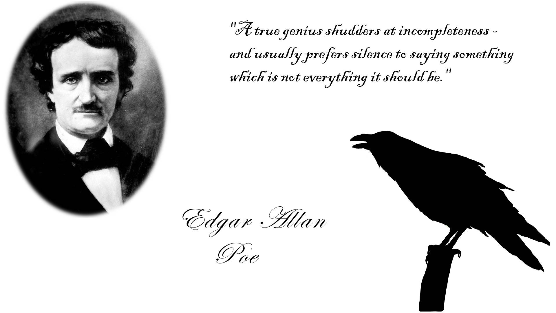 Report this Image? favorite it? enlarge^ 1920x1080 498585 KB. Edgar Allan Poe ...