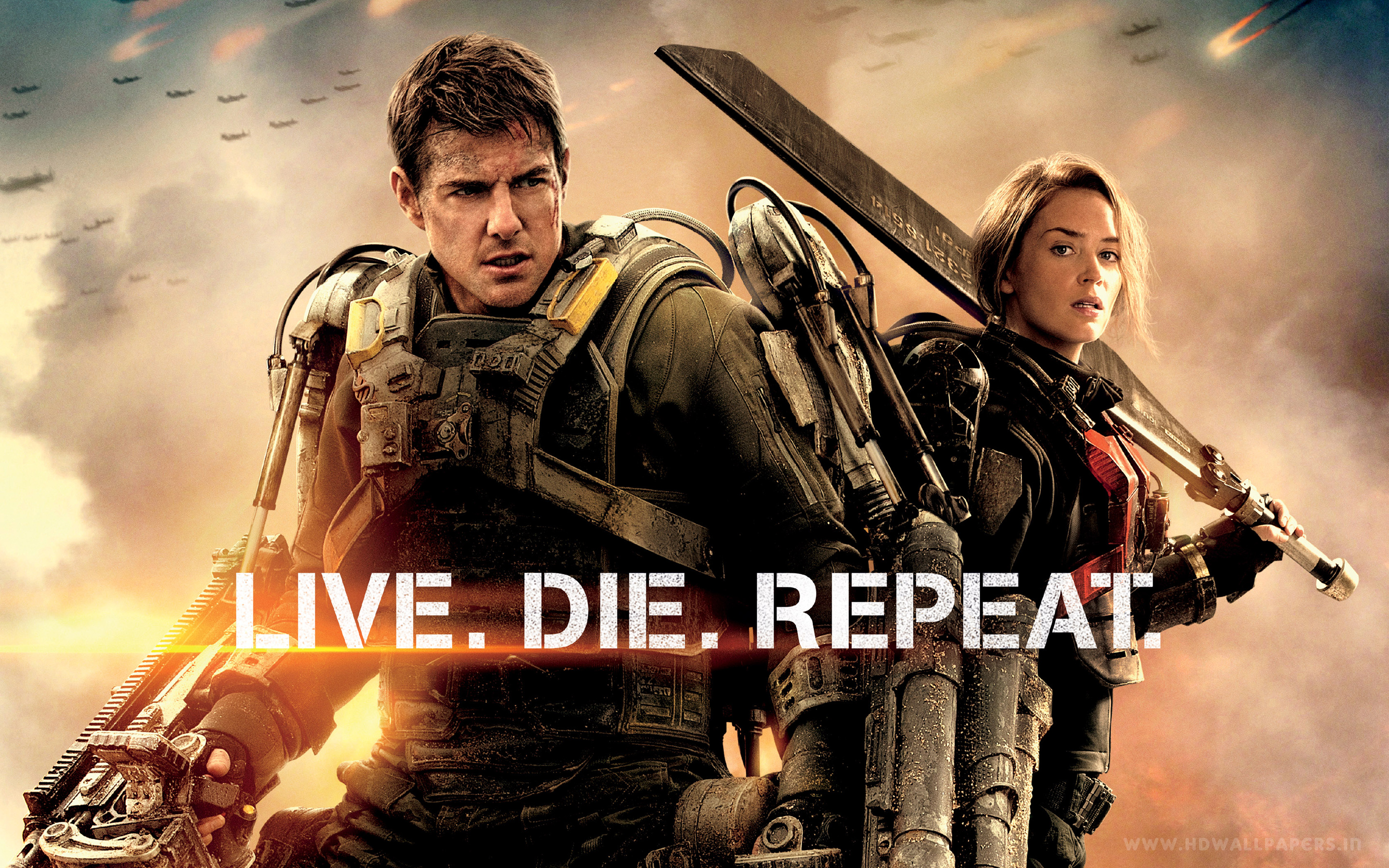 Edge Of Tomorrow Wallpaper Live Die Repeat (2)