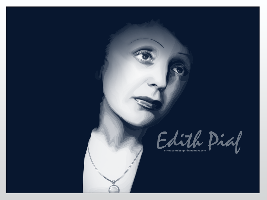 Edith Piaf by firmacomdesign ...