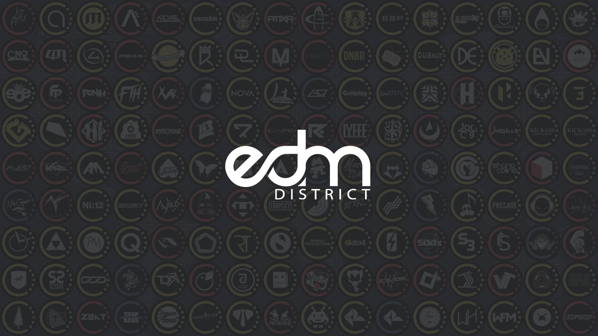 Edm District Hd Wallpaper for Dekstop Image Label