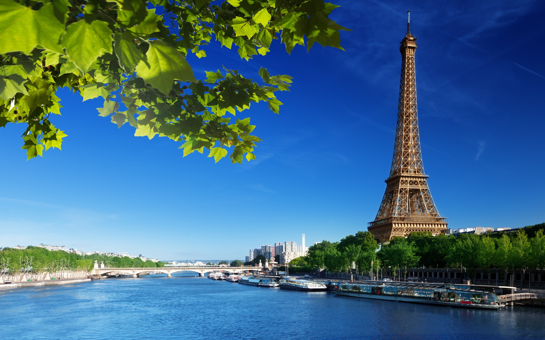 Eiffel tower seine river