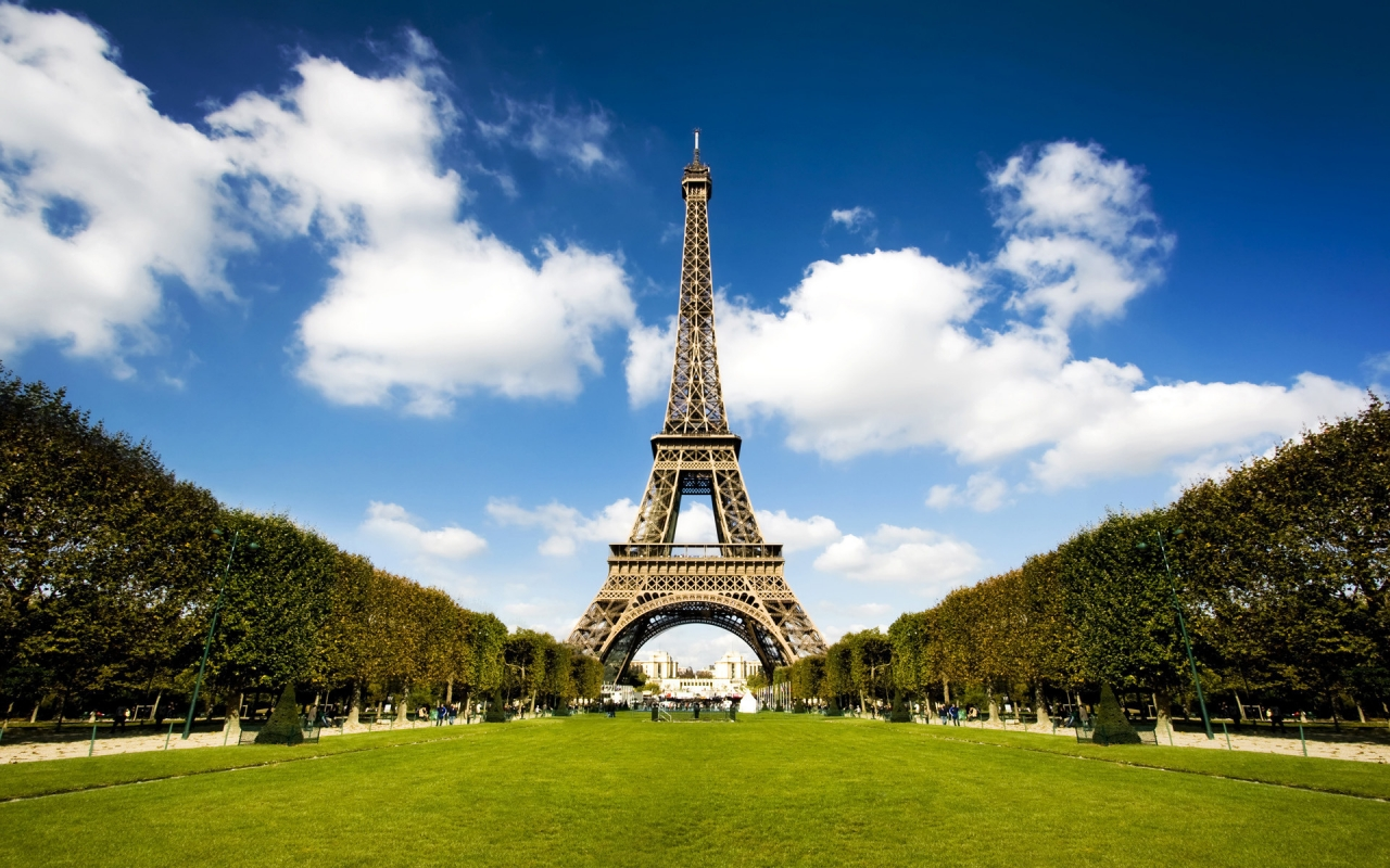 HD Wallpaper | Background ID:146442. 1280x800 Man Made Eiffel Tower