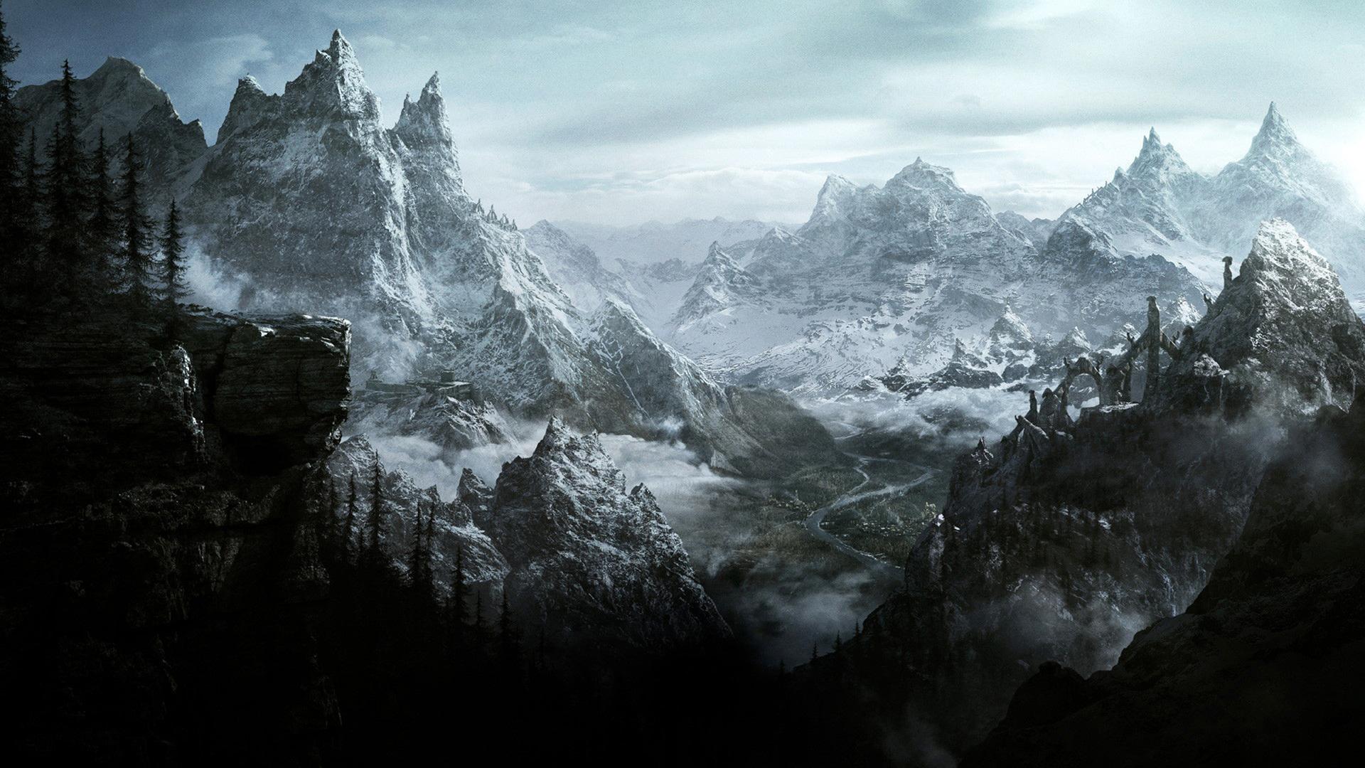 Elder Scrolls Online: the mountains